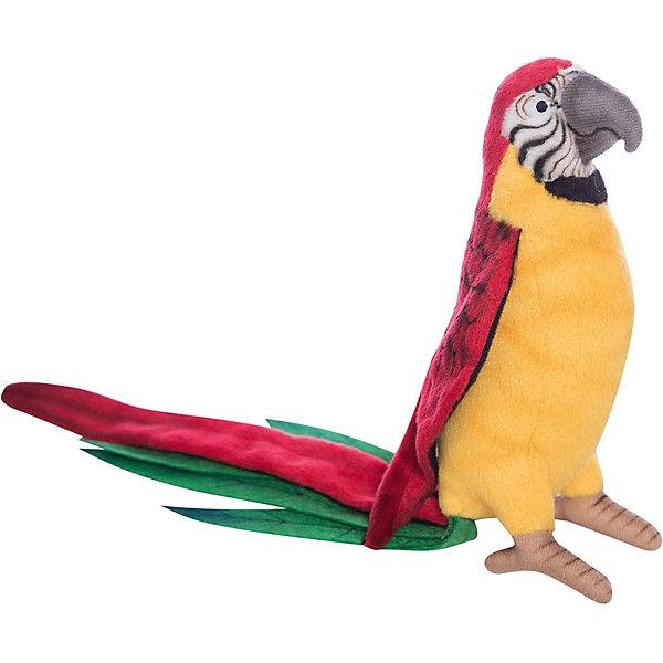 Желтый попугай, 37 см,  HansaМягкие игрушки животные<br>Пестрая расцветка в радужных тонах такого Желтого попугайчика от Hansa (Ханса) поднимет маленьким деткам настроение даже в самый пасмурный день.<br>Игрушечная копия экзотической птички помимо такой же расцветки перьев, очень похожа на настоящего попугая строением формы клюва и длинного хвоста с цветными переливами. Надежным основанием для поддержания конструкции игрушки служит высокопрочный металлический каркас, а набивка выполнена из качественного искусственного меха, не содержащего в составе волокон аллергических веществ.<br>Игрушка приятно разнообразит повседневные детские игры, активно развивая зрительное и тактильное восприятие, фантазию и воображение.  Модель может быть использована не только в качестве классической мягкой игрушки, но и как элемент декора в интерьере.<br>Заведите своему малышу яркого экзотического друга!<br><br>Дополнительная информация:<br><br>- Высота: 37 см;<br>- Материал: искусственный мех, металл;<br>- Размер упаковки: 50 х 7 х 6 см;<br>- Вес с упаковкой: 135 г.<br><br>Желтого попугая, 37 см,  Hansa (Ханса) можно купить в нашем интернет-магазине.<br>Ширина мм: 500; Глубина мм: 70; Высота мм: 60; Вес г: 35; Возраст от месяцев: 72; Возраст до месяцев: 180; Пол: Унисекс; Возраст: Детский; SKU: 3563691;