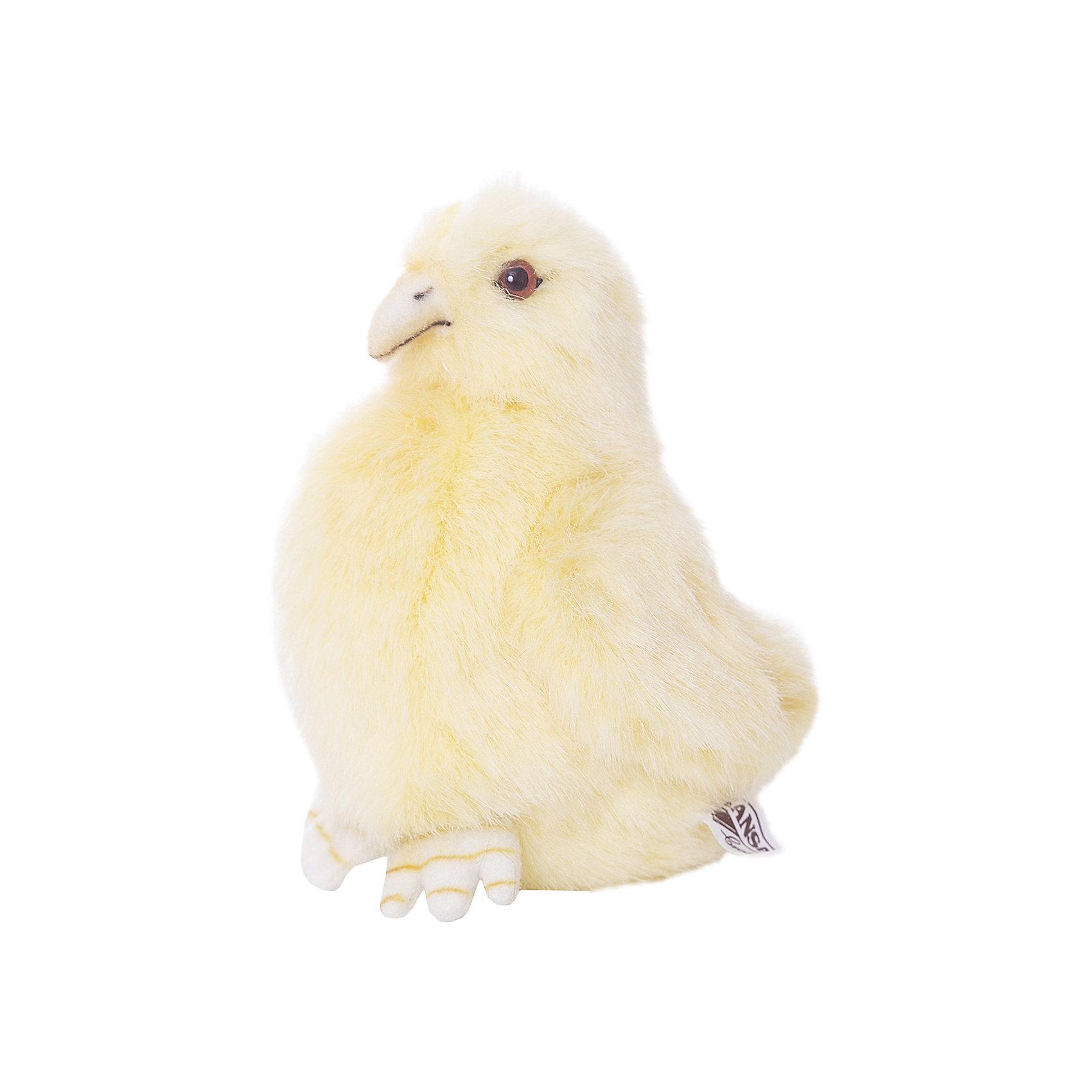 Цыпленок, 13 см,  HansaИгрушечная версия потешного маленького цыпленка с забавными крылышками и клювиком станет самой желанной игрушкой для Вашего малыша. Игрушка изготовлена известным производителем детских игрушек Hansa (Ханса). Приятный на ощупь, мягкий пушок цыпленка точно имитирует по цвету пух и окрас настоящего животного. Внутри мягкая игрушка плотно набита вручную искусственным мехом, волокна которого не содержат вредных химических раздражителей. Игрушка Цыпленок  от Hansa (Ханса) разнообразит детские игры, благоприятно воздействуя на развитие воображение и фантазии, зрительное и тактильное восприятие. Игрушка сшита вручную из искусственного меха, текстиля и иных материалов высокого качества.  Модель может быть использована не только в качестве классической мягкой игрушки, но и как элемент декора в интерьере.<br>Заведите себе мягкого симпатичного цыпленка!<br><br>Дополнительная информация:<br><br>- Высота: 13 см;<br>- Материал: искусственный мех, текстиль;<br>- Размер упаковки: 13 х 10 х 12 см;<br>- Вес с упаковкой: 25 г.<br><br>Цыпленка 13 см,  Hansa (Ханса) можно купить в нашем интернет-магазине.<br><br>Ширина мм: 130<br>Глубина мм: 120<br>Высота мм: 100<br>Вес г: 25<br>Возраст от месяцев: 144<br>Возраст до месяцев: 252<br>Пол: Унисекс<br>Возраст: Детский<br>SKU: 3563697