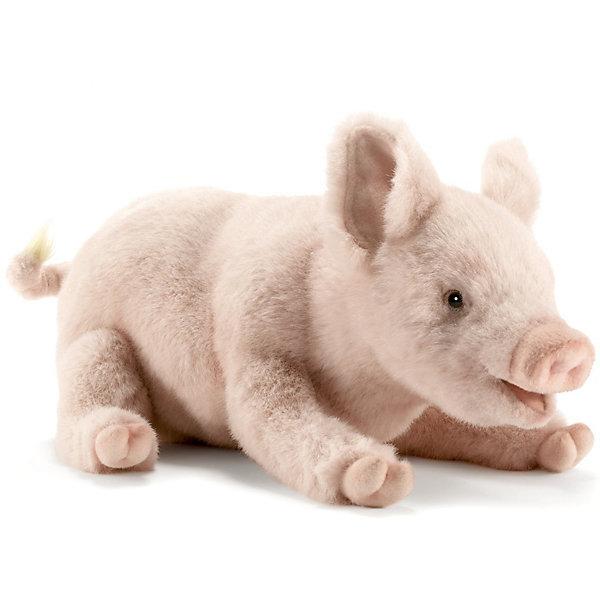 Свинка, 28 см,  HansaМягкие игрушки животные<br>Потешная игрушечная копия розового поросеночка с забавным пяточком внешне очень похожа на настоящую свинку, как окрасом шерстки, так и по внешним признакам. У игрушки Свинка от Hansa (Ханса) основанием для поддержания конструкции служит прочный и надёжный металлический корпус, благодаря которому можно придавать игрушке разные позы, а набивка выполнена из качественного искусственного меха, не содержащего в составе волокон аллергических веществ. Мягкая игрушка поднимет настроение и развивает зрительное и тактильное восприятие. <br><br>Игрушка Свинка 28 см, от Hansa (Ханса) от  разнообразит детские игры, благоприятно воздействуя на развитие воображение и фантазии, зрительное и тактильное восприятие. Модель может быть использована не только в качестве классической мягкой игрушки, но и как элемент декора в интерьере.<br><br>Дополнительная информация:<br><br>- Высота: 28 см;<br>- Материал: искусственный мех, металл;<br>- Размер упаковки: 28 х 80 х 15 см;<br>- Вес с упаковкой: 155 г.<br><br>Свинку, 28 см,  Hansa (Ханса) можно купить в нашем интернет-магазине.<br>Ширина мм: 280; Глубина мм: 80; Высота мм: 150; Вес г: 155; Возраст от месяцев: 156; Возраст до месяцев: 264; Пол: Унисекс; Возраст: Детский; SKU: 3563698;