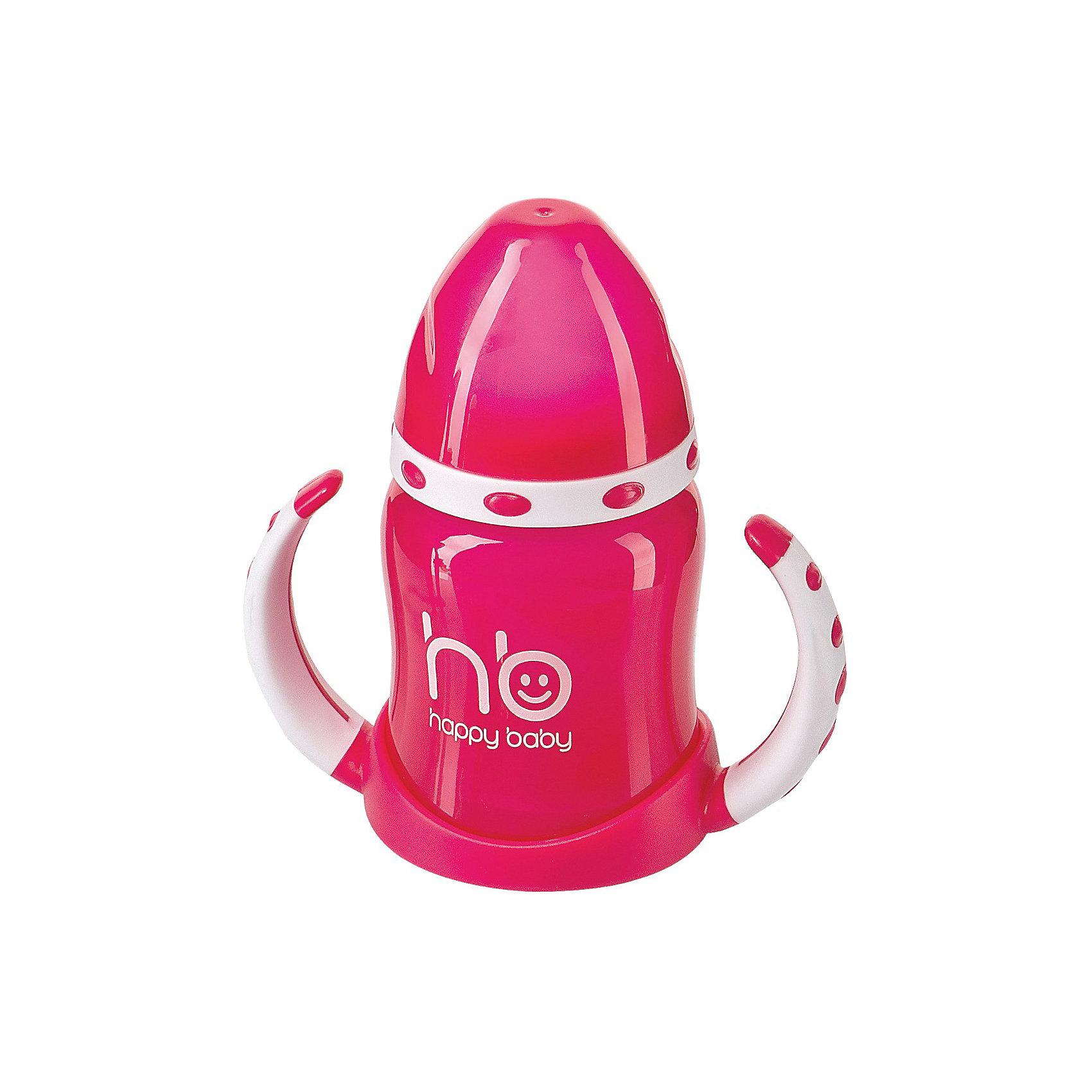 Поильник с двумя тренировочными клапанами ERGO CUP, 180мл., Happy Baby, красныйПоильники<br>Поильник с двумя тренировочными клапанами ERGO CUP, 180мл., Happy Baby (Хэппи Бэби), красный - обязательно понравится вашему  малышу.<br>Сразу пить из обычной кружки – непосильная задача для маленького ребенка. Нестандартный поильник с эргономичными ручками от Happy Baby подготовит его к очередной важной вехе развития. Два тренировочных клапана научат регулировать скорость всасывания. Герметичная выгнутая крышка защитит сок, молоко от грязи и пыли, которых не избежать на прогулке. Изготовлен поильник из современных безопасных материалов. Поильник прост в уходе - его удобно мыть, чистить, собирать и разбирать.<br><br>Дополнительная информация:<br><br>- Объем: 180 мл.<br>- Материал: полипропилен, силикон, ТПЭ<br>- Герметичная крышка<br>– Эргономичные ручки<br>– 2 клапана в комплекте<br>- Уход: мыть теплой водой с мылом, тщательно ополаскивать. Сушить при комнатной температуре.<br>- Вымыть перед первым использованием<br><br>Поильник с двумя тренировочными клапанами ERGO CUP, 180мл., Happy Baby (Хэппи Бэби), красный можно купить в нашем интернет-магазине.<br><br>Ширина мм: 510<br>Глубина мм: 90<br>Высота мм: 290<br>Вес г: 150<br>Возраст от месяцев: 6<br>Возраст до месяцев: 36<br>Пол: Унисекс<br>Возраст: Детский<br>SKU: 3564186