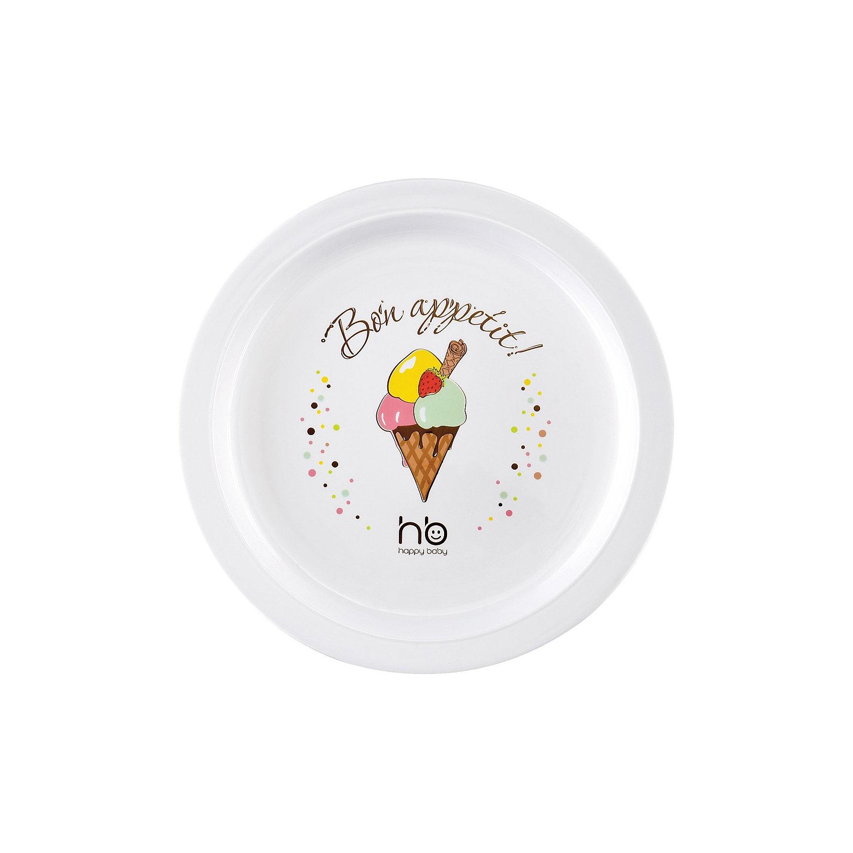 Тарелка CHILDREN`S PLATE, Happy Baby, мороженоеДетская тарелка CHILDREN`S PLATE, Happy Baby (Хэппи Бэби), мороженое - приучает малыша есть из посуды для взрослых.<br>Оригинальный дизайн детской тарелки Childrens plate   с изображением любимого лакомства детей - мороженого, только поднимет аппетит ребенка. Изготовлена тарелка из безопасного материала. Тарелка удароустойчива - не бьется при случайном падении.<br><br>Дополнительная информация:<br><br>- Материал: полипропилен<br><br>Детскую тарелку CHILDREN`S PLATE, Happy Baby (Хэппи Бэби), мороженое можно купить в нашем интернет-магазине.<br><br>Ширина мм: 290<br>Глубина мм: 240<br>Высота мм: 265<br>Вес г: 200<br>Возраст от месяцев: 6<br>Возраст до месяцев: 36<br>Пол: Унисекс<br>Возраст: Детский<br>SKU: 3564195