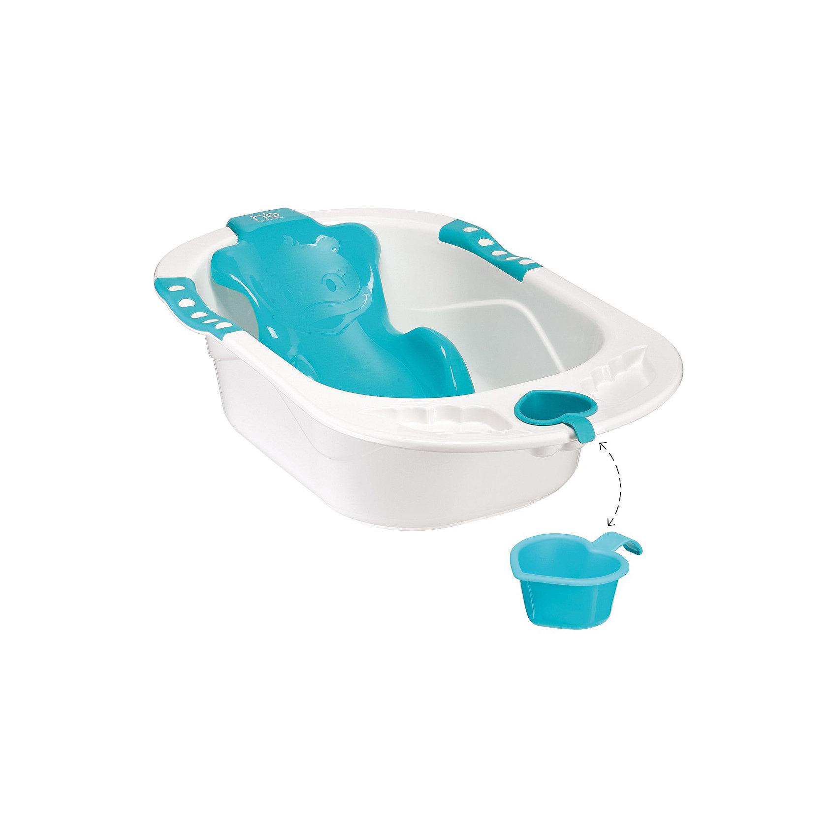 Ванна с анатомической горкой BATH COMFORT, Happy Baby, голубойВанны, горки, сиденья<br>Детская ванна с анатомической горкой BATH COMFORT, Happy Baby (Хэппи Бэби),  голубой - купание будет простым и приятным занятием.<br>Детская ванночка Baby Comfort – предназначена для купания детей с самого рождения. Эргономичная горка, которая повторяет анатомические формы тела.  Наличие горки делает эту ванночку комфортной для малыша, три опорные точки под мышками и в паху обеспечивают безопасность, а также позволяют маме искупать малыша без дополнительной помощи. Горка надежно фиксируется присосками к дну ванны. Ванна оборудована сливом с защитой. В углублениях по бокам ванночки можно разместить аксессуары для купания. Имеется удобный съемный ковшик в виде сердечка. Изготовлена ванна из прочного экологически чистого материала.<br><br>Дополнительная информация:<br><br>- Материал: полипропилен, ПВХ (присоски)<br>- Размеры ванны:  88х52х35.5 см<br><br>Детскую ванну с анатомической горкой BATH COMFORT, Happy Baby (Хэппи Бэби), голубую можно купить в нашем интернет-магазине.<br><br>Ширина мм: 880<br>Глубина мм: 520<br>Высота мм: 355<br>Вес г: 3000<br>Возраст от месяцев: 0<br>Возраст до месяцев: 18<br>Пол: Унисекс<br>Возраст: Детский<br>SKU: 3564213