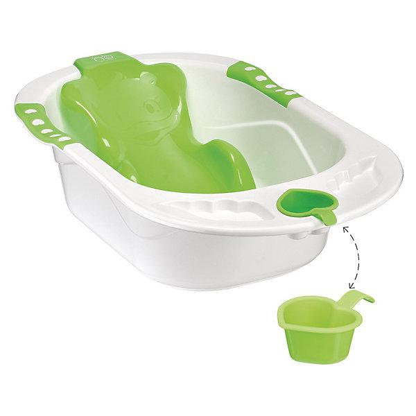 Ванна с анатомической горкой BATH COMFORT, Happy Baby, зеленыйТовары для купания<br>Детская ванна с анатомической горкой BATH COMFORT, Happy Baby (Хэппи Бэби), зеленый- купание будет простым и приятным занятием.<br>Детская ванночка Baby Comfort – предназначена для купания детей с самого рождения. Эргономичная горка, которая повторяет анатомические формы тела.  Наличие горки делает эту ванночку комфортной для малыша, три опорные точки под мышками и в паху обеспечивают безопасность, а также позволяют маме искупать малыша без дополнительной помощи. Горка надежно фиксируется присосками к дну ванны. Ванна оборудована сливом с защитой. В углублениях по бокам ванночки можно разместить аксессуары для купания. Имеется удобный съемный ковшик в виде сердечка. Изготовлена ванна из прочного экологически чистого материала.<br><br>Дополнительная информация:<br><br>- Материал: полипропилен, ПВХ (присоски)<br>- Размеры ванны: 88х52х35.5 см<br><br>Детскую ванну с анатомической горкой BATH COMFORT, Happy Baby (Хэппи Бэби), зеленую можно купить в нашем интернет-магазине.<br><br>Ширина мм: 880<br>Глубина мм: 520<br>Высота мм: 355<br>Вес г: 3000<br>Возраст от месяцев: 0<br>Возраст до месяцев: 18<br>Пол: Унисекс<br>Возраст: Детский<br>SKU: 3564214