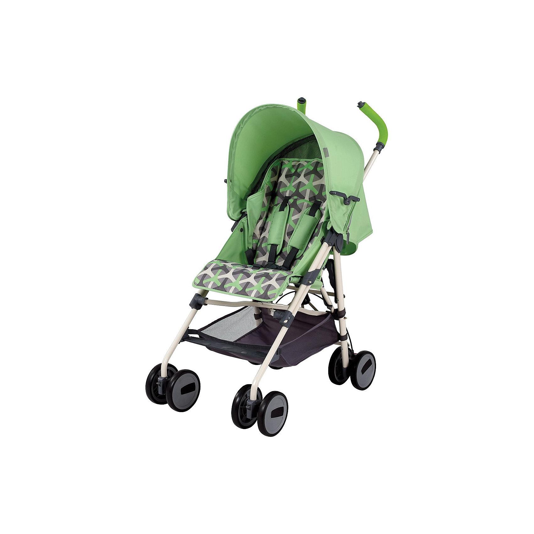 Коляска-трость Colibri, Happy Baby, зелёный