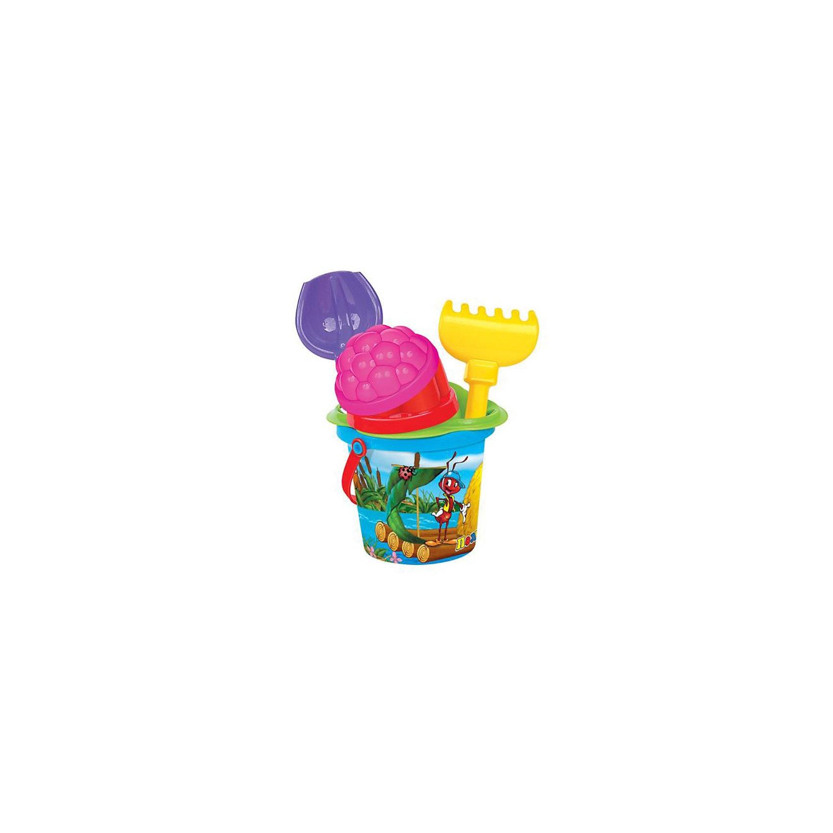 Песочный набор № 229 (6 пердметов), ПолесьеИграем в песочнице<br>Песочный набор № 229 (6 предметов), Полесье  создан специально для игр в песочнице.<br><br>Игра с песком отлично развивает мелкую моторику рук, тактильные ощущения малыша, делает еще богаче его воображение и творческие способности.<br><br>Порадуйте Вашего ребенка прекрасным подарком!<br><br>Дополнительная информация: <br><br>- В комплекте: ведро малое с наклейкой, ситечко-цветок, совок, грабли, 2 формочки<br>- Материал: пластмасса<br>- Упаковка: сетка<br>- Размер упаковки: 13 х 13 х 17 см<br>- Вес: 120 г.<br><br>Песочный набор № 229 (6 предметов), Полесье<br>Можно купить в нашем интернет-магазине.<br><br>Ширина мм: 130<br>Глубина мм: 130<br>Высота мм: 170<br>Вес г: 120<br>Возраст от месяцев: 12<br>Возраст до месяцев: 60<br>Пол: Унисекс<br>Возраст: Детский<br>SKU: 3566335