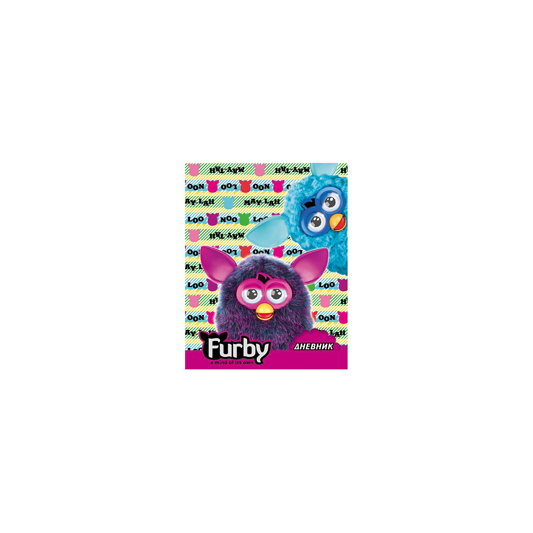 Дневник для младшей школы, FurbyДневник для младших классов Furby (Ферби) порадует маленькую школьницу своим ярким красочным дизайном, она с удовольствием будет носить его каждый день на школьные занятия. У дневника твёрдая разноцветная обложка, украшенная изображением милых забавных существ Ферби. Внутри - стандартное оформление, офсетная печать.<br><br>Дополнительная информация:<br><br>- Материал: бумага. <br>- Размер: 17,2 х 21,6 х 0,9 см.<br>- Вес: 200 гр.<br><br>Дневник для младшей школы Furby можно купить в нашем интернет-магазине.<br><br>Ширина мм: 225<br>Глубина мм: 360<br>Высота мм: 105<br>Вес г: 200<br>Возраст от месяцев: 48<br>Возраст до месяцев: 84<br>Пол: Унисекс<br>Возраст: Детский<br>SKU: 3571225