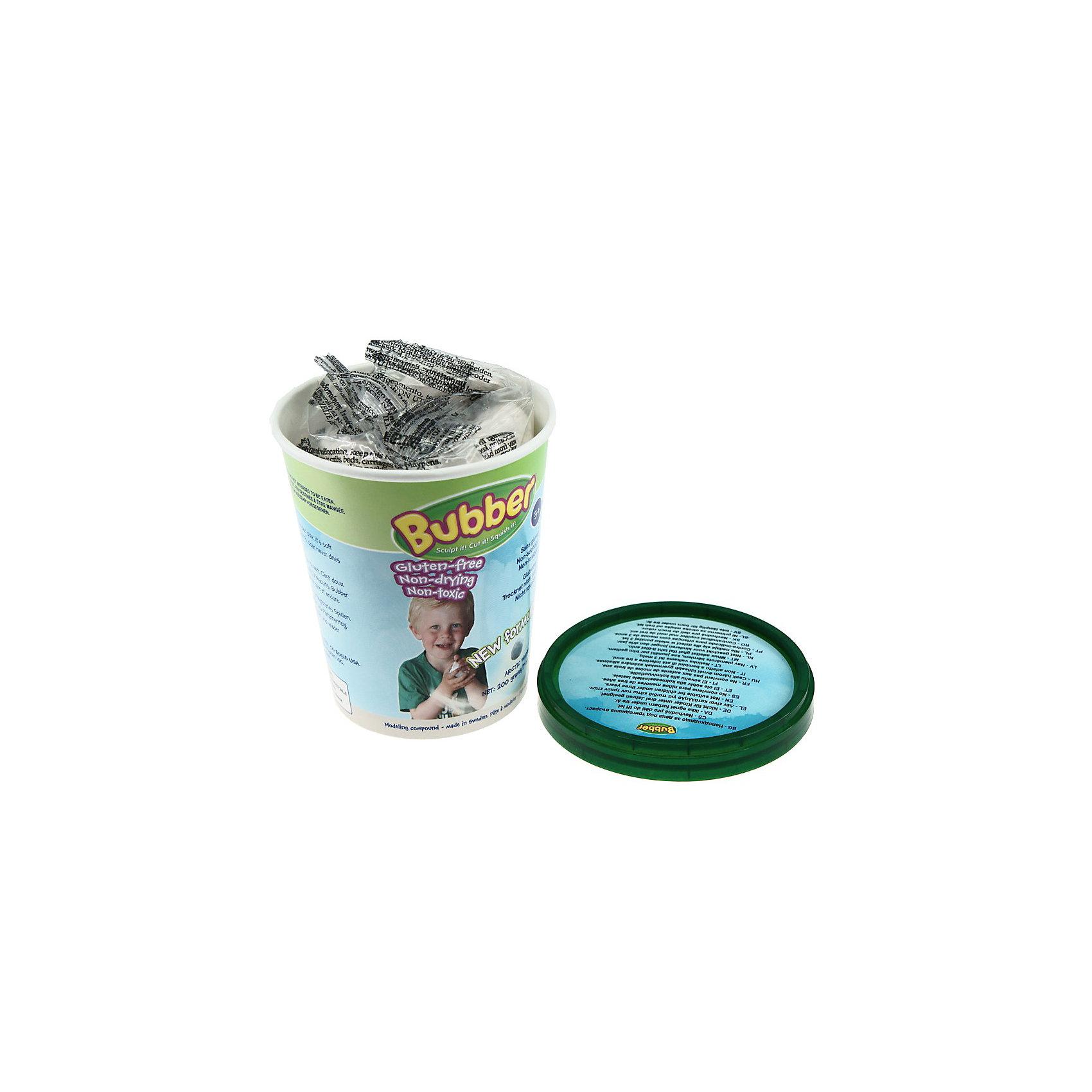 Масса для лепки Bubber, WABA FUN, 200 гр., белыйМасса для лепки Bubber от Waba Fun это уникальный инструмент для детского творчества. Смеси Bubber состоят из мельчайших керамических сфер и специального связующего компонента. Мягкие и невесомые смеси для лепки Bubber приятны на ощупь и предоставляют огромные возможности для игр и творчества, из них можно лепить волшебные замки, макеты и статуи, различные геометрические фигуры с четкими гранями и более простые формы, придумывать новые фигурки.<br><br>Смеси Bubber совершенно безопасны, нетоксичны и гипоаллергенны, не липнут к рукам, легко чистятся и не оставляют пятен. Смеси не сохнут, поэтому можно играть с ними снова и снова. В данном наборе представлена смесь белого цвета в пластиковом ведерке 200 гр., с ее помощью Ваш ребенок сможет слепить разнообразные фигуры, которые будут держать форму, не смотря на рассыпчатую структуру строительного материала.  <br><br>Занятия лепкой из смесей Bubber стимулируют развитие творческих способностей и воображения у ребёнка, развивают мелкую моторику, способствуют формированию речи и подготавливают руку к письму.<br><br>Дополнительная информация:<br><br>- Материал: мелкие керамические сферы и связующий компонент.<br>- Размер упаковки: 10 x 9 x 10 см.<br>- Вес: 200 гр.<br><br>Массу для лепки Bubber (белая) от Waba Fun можно купить в нашем интернет-магазине.<br><br>Ширина мм: 200<br>Глубина мм: 65<br>Высота мм: 190<br>Вес г: 200<br>Возраст от месяцев: 36<br>Возраст до месяцев: 84<br>Пол: Унисекс<br>Возраст: Детский<br>SKU: 3571635