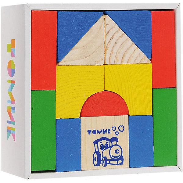 Конструктор   Цветной, 14 деталей,  ТомикДеревянные конструкторы<br>Конструктор «Цветной», 14 деталей, Томик – яркий конструктор для малышей из экологически чистого материала.<br><br>С помощью этого замечательного конструктора ребенок сможет познакомиться с основными цветами и геометрически фигурами. Кроме того, строя башни, дома и домики, заборы, мосты и многое другое ребенок узнает о понятиях «выше и ниже», «больше и меньше», «шире и уже». <br><br>Комплектация:<br>- 14 различных фигур<br><br>Дополнительная информация:<br><br>- размер коробки: 13х13х4 см<br>- вес: 365 г<br>- материал: дерево<br><br>Конструктор «Цветной», 14 деталей, Томик – полезный подарок для ребенка, который поможет ему развить фантазию, логику и координацию движений.<br><br>Конструктор «Цветной», 14 деталей, Томик можно купить в нашем магазине.<br><br>Ширина мм: 130<br>Глубина мм: 130<br>Высота мм: 40<br>Вес г: 400<br>Возраст от месяцев: 36<br>Возраст до месяцев: 60<br>Пол: Унисекс<br>Возраст: Детский<br>SKU: 3574601