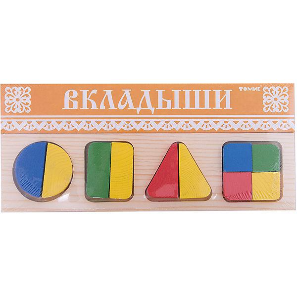 Рамка-вкладыш   Геометрия Большая,  ТомикДеревянные игрушки<br>Рамка-вкладыш «Геометрия Большая», Томик поможет ребенку познакомиться с геометрическими фигурами и понять, как из нескольких частей складывается целое.<br><br>Рамка-вкладыш представляет собой прямоугольную рамку с четырьмя углублениями для геометрических фигур – круга, квадрата, прямоугольника и треугольника. Каждая из этих фигур поделена на части. В углубления рамки нужно вставлять подходящие детали, чтобы получить целую фигуру. Так, круг, прямоугольник и треугольник состоят из двух частей, а квадрат из четырех. <br><br>Комплектация:<br>- рамка-вкладыш<br>- 10 элементов<br><br>Дополнительная информация:<br><br>- размер упаковки: 30х13х1,5 см<br>- вес: 255 г<br>- материал: дерево<br><br>Рамка-вкладыш «Геометрия Большая», Томик – полезная игра для ребенка, которая развивает усидчивость, пространственное мышление, мелкую моторику рук.<br><br>Рамку-вкладыш «Геометрия Большая», Томик можно купить в нашем магазине.<br>Ширина мм: 300; Глубина мм: 130; Высота мм: 15; Вес г: 270; Возраст от месяцев: 12; Возраст до месяцев: 36; Пол: Унисекс; Возраст: Детский; SKU: 3574609;