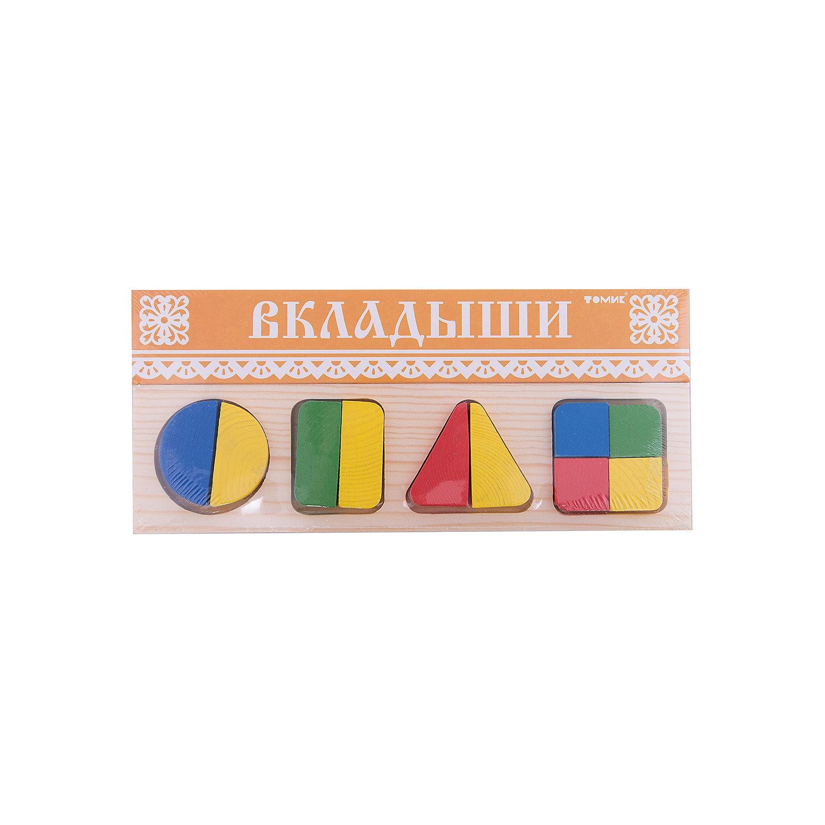Рамка-вкладыш Геометрия Большая, ТомикРамки-вкладыши<br>Рамка-вкладыш «Геометрия Большая», Томик поможет ребенку познакомиться с геометрическими фигурами и понять, как из нескольких частей складывается целое.<br><br>Рамка-вкладыш представляет собой прямоугольную рамку с четырьмя углублениями для геометрических фигур – круга, квадрата, прямоугольника и треугольника. Каждая из этих фигур поделена на части. В углубления рамки нужно вставлять подходящие детали, чтобы получить целую фигуру. Так, круг, прямоугольник и треугольник состоят из двух частей, а квадрат из четырех. <br><br>Комплектация:<br>- рамка-вкладыш<br>- 10 элементов<br><br>Дополнительная информация:<br><br>- размер упаковки: 30х13х1,5 см<br>- вес: 255 г<br>- материал: дерево<br><br>Рамка-вкладыш «Геометрия Большая», Томик – полезная игра для ребенка, которая развивает усидчивость, пространственное мышление, мелкую моторику рук.<br><br>Рамку-вкладыш «Геометрия Большая», Томик можно купить в нашем магазине.<br><br>Ширина мм: 300<br>Глубина мм: 130<br>Высота мм: 15<br>Вес г: 270<br>Возраст от месяцев: 12<br>Возраст до месяцев: 36<br>Пол: Унисекс<br>Возраст: Детский<br>SKU: 3574609