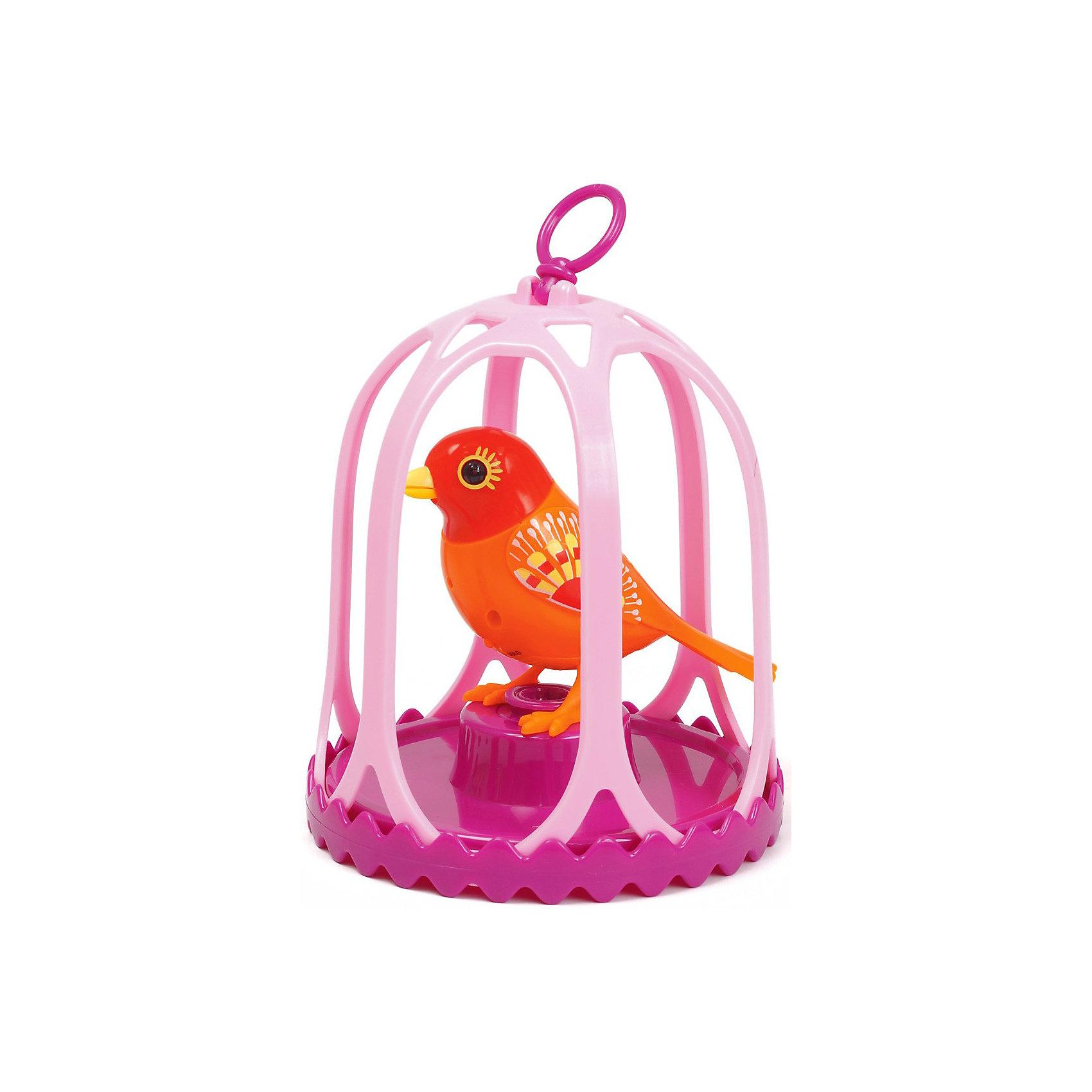 Поющая птичка в клетке DigiBirds, в ассортименте