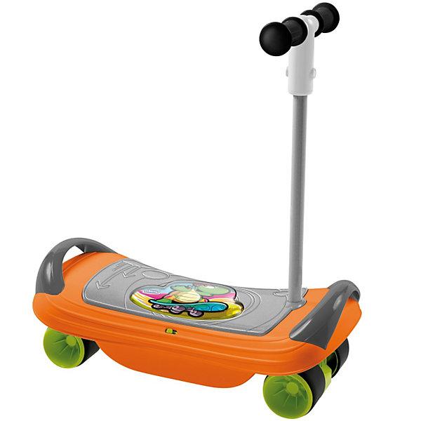 Скейтборд BalansKate, ChiccoСкейтборды и лонгборды<br>Скейтборд BalansKate, Chicco (Чико) – это спортивно-развивающая игрушка 3 в 1 для детей от 1,5 года.<br>Стильный и быстрый Скейтборд BalansKate от Chicco станет новым спортивным увлечением Вашего ребенка! Скейтборд состоит из широкой доски с двумя ручками по бокам, четырех пластиковых колес с резиновыми накладками и съемной ручкой-рулем. Скейтборд BalansKate – это 3 продукта в 1 для развития последовательного баланса Вашего ребенка. Дети от 18 месяцев смогут развивать на скейте координацию движения и моторику, используя ее как доску для баланса. Музыкальные эффекты развлекут и развеселят малыша, но также и помогут балансировать – ведь мелодия прекращается, если малыш теряет равновесие. В 2 года можно пробовать использовать скейт как самокат. Для этого нужно лишь отвинтить раму с расположенными на ней колесами и вставить руль в специальную пройму. И наконец, для 3-х летнего ребенка игрушка превращается в полноценный скейтборд, на котором можно разгоняться и пробовать разнообразные трюки. Изготовлено из высококачественных безопасных материалов.<br><br>Дополнительная информация:<br><br>- Материал: пластик, резина, металл<br>- Размеры: 510 х 240 х 160 мм, высота руля 600 мм.<br>- Размер упаковки: 53 х 36 х 17 см.<br>- Батарейки: 2 х АА, 1,5 В (в комплект не входят)<br><br>Скейтборд BalansKate, Chicco (Чико) можно купить в нашем интернет-магазине.<br><br>Ширина мм: 540<br>Глубина мм: 360<br>Высота мм: 183<br>Вес г: 2364<br>Возраст от месяцев: 18<br>Возраст до месяцев: 48<br>Пол: Унисекс<br>Возраст: Детский<br>SKU: 3587135