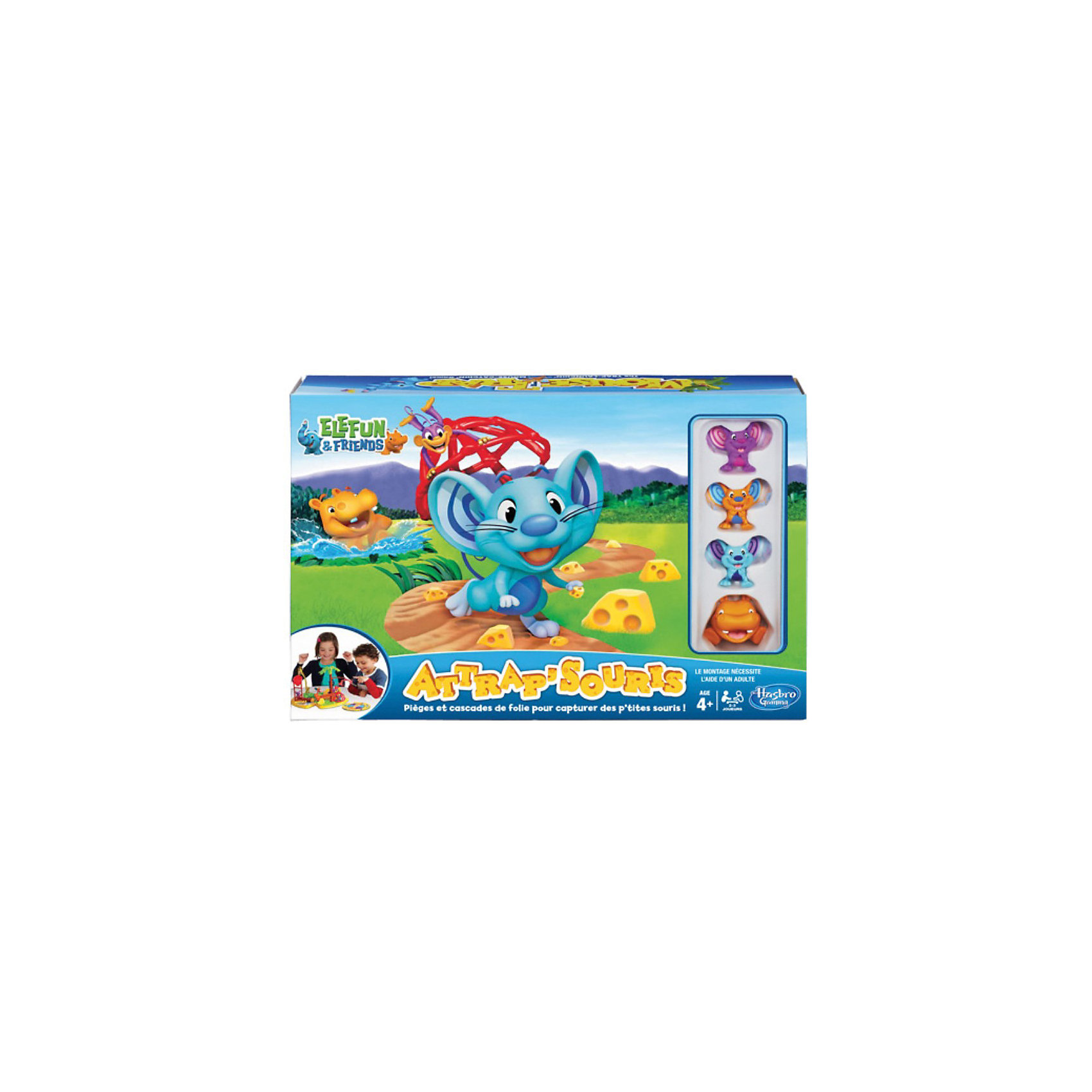 Hasbro Игра Мышеловка, Hasbro мышеловка mr mouse сз 040017