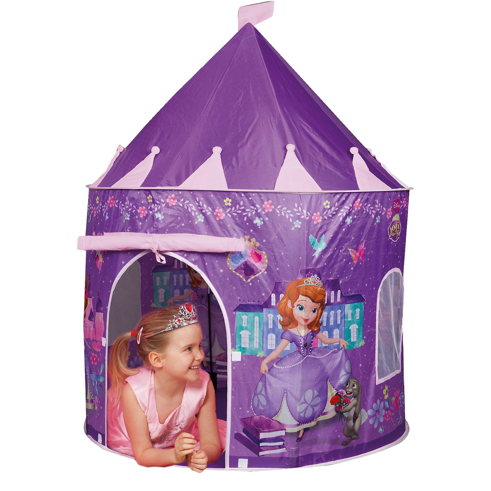 Палатка в форме замка