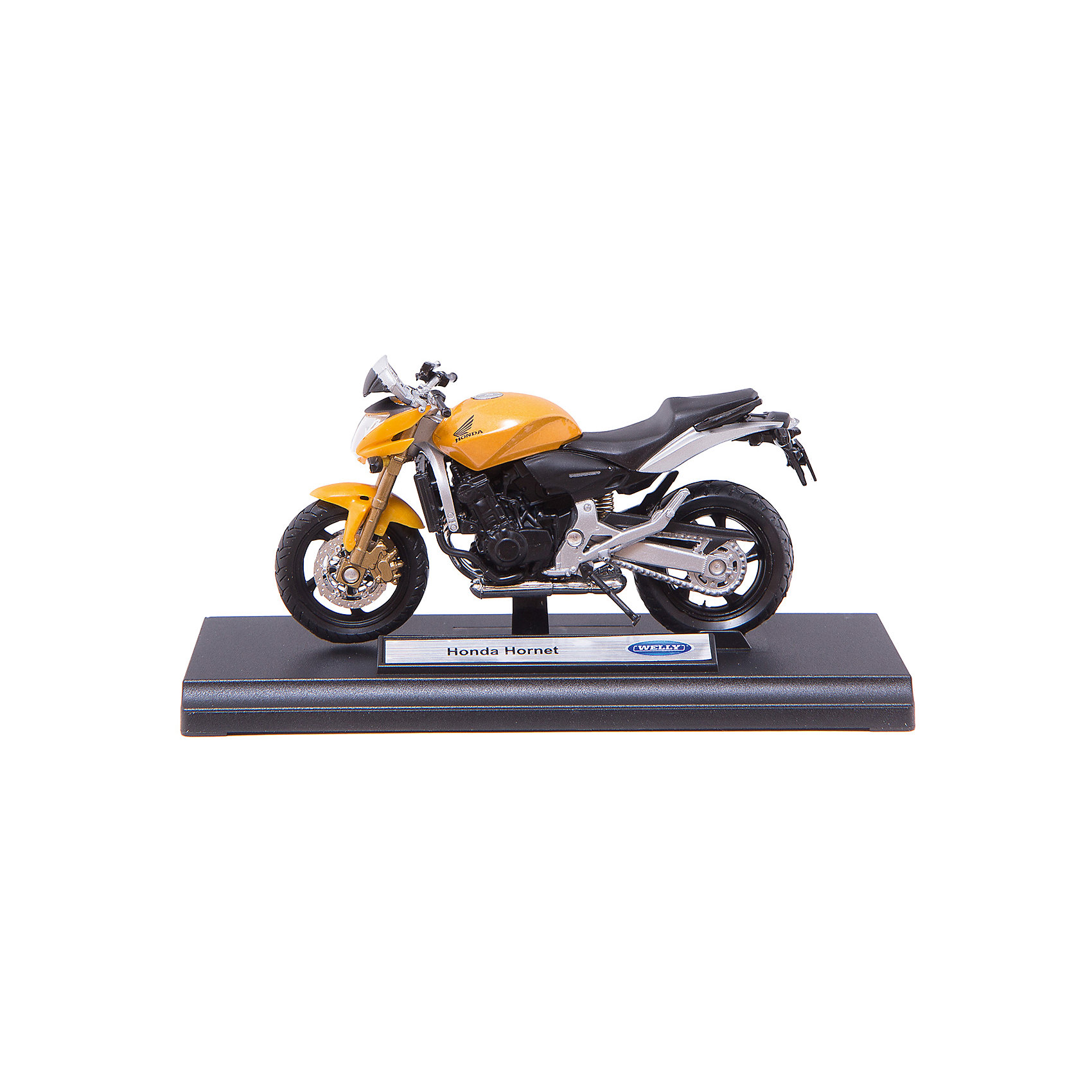Welly Модель мотоцикла 1:18 Honda Hornet, Welly for honda cb600f cb900f hornet cb1000r motorcycle upgrade front brake system radial brake master cylinder