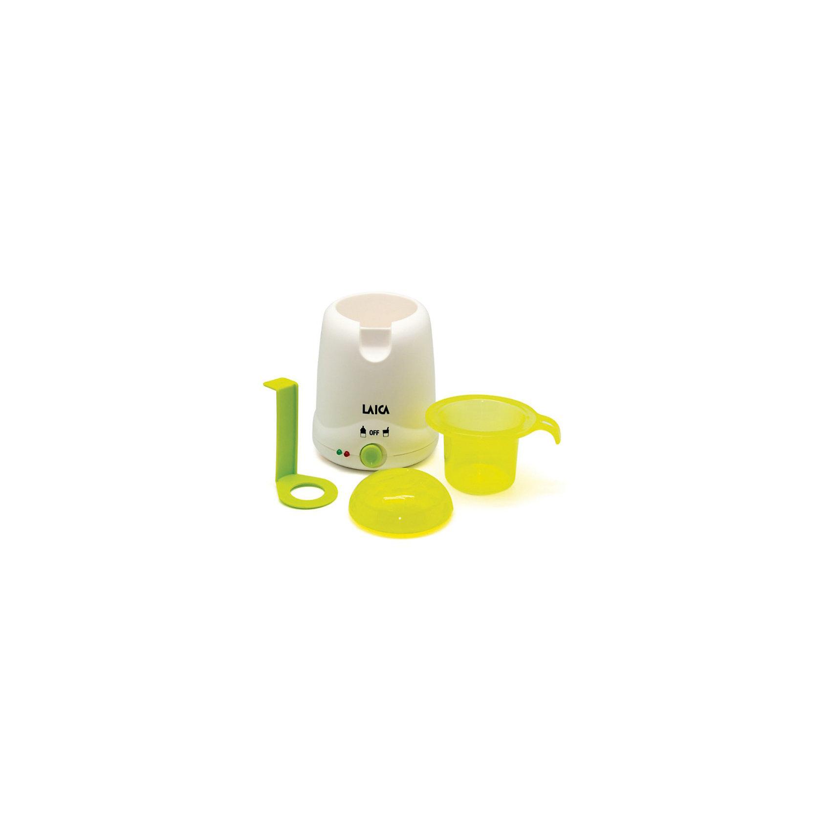 Цифровой подогреватель BС1007 LAICAПодогреватель детского питания LAICA ВС1007 - простой и функциональный подогреватель для бутылочек и баночек. Устройство работает в двух режимах нагрева в зависимости от типа питания - густое или жидкое. Нагрев ограничивается температурой 80°С. По завершению процесса нагрева прибор сигнализирует звуковым оповещением. Подогреватель работает от сети и рассчитан на одновременный подогрев одной бутылочки или одной баночки. Устройство будет особенно полезным для родителей, которые любят путешествовать вместе ребенком. Компактный размер подогревателя позволяет его взять с собой в дорогу, разместив в дорожной сумке, рюкзаке или в автомобиле.<br> <br>Дополнительная информация:<br><br>- В наборе: подогреватель детского питания, стаканчик с крышкой и лифт для извлечения бутылочек;<br>- 2 режима нагрева:<br> для жидкого (питания во всех типах бутылочек)<br> для густого питания (в баночках и контейнерах);<br>- Вместимость: 1 бутылочка или 1 баночка;<br>- Поддержание заданной температуры;<br>- Звуковой сигнал;<br>- Индикатор готовности;<br>- Температура нагрева до 80°С;<br>- Температура нагрева задается в зависимости от объема и консистенции питания;<br>- Размеры: 18 х 13 х 13 см;<br>- Вес: 500г<br><br>Цифровой подогреватель LAICA BС1007 можно купить в нашем интернет-магазине.<br><br>Ширина мм: 150<br>Глубина мм: 140<br>Высота мм: 190<br>Вес г: 590<br>Возраст от месяцев: 0<br>Возраст до месяцев: 36<br>Пол: Унисекс<br>Возраст: Детский<br>SKU: 3593310