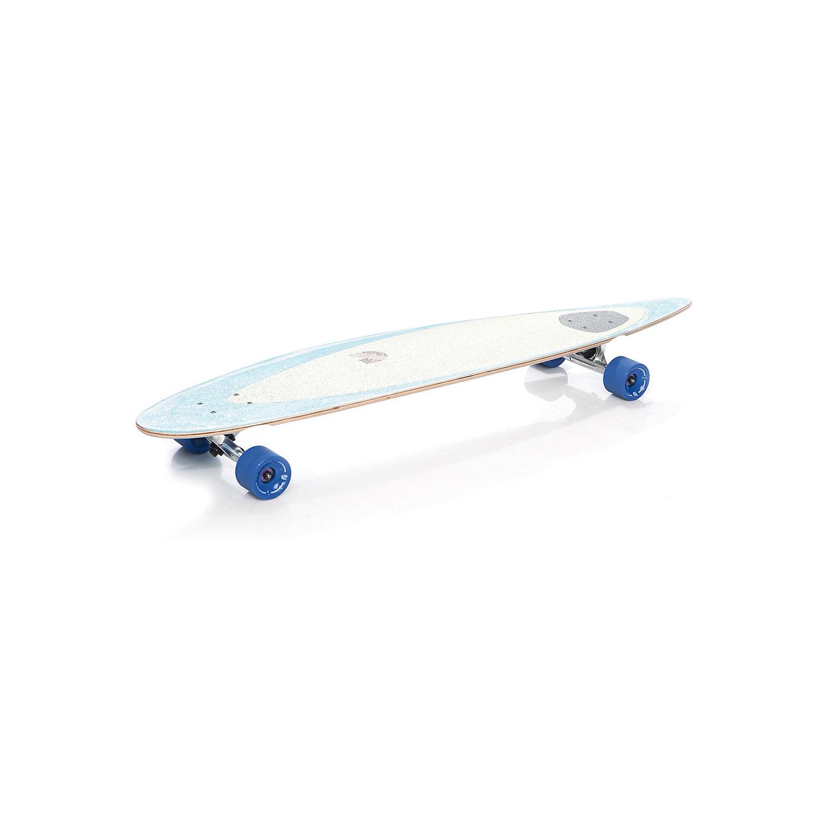 Лонгборд SurfЛонгборд - разновидность скейтборда с удлиненной доской и колесной базой, повышенной устойчивостью и улучшенными ходовыми качествами. Лонгборд Surf это новая усовершенствованная модель, идеально подходящая для комфортного перемещения в городской среде. Доска отличается оригинальным дизайном и повышенной аэродинамикой, изготовлена из экологичного материала: семь слоев канадского клена.<br><br>SHR полиуретановые литые колеса с амортизаторами и алюминиевыми подвесками очень удобны для катания. Верхнее покрытие доски - шкурка из песка, имеется логотип.<br><br>Дополнительная информация:<br><br>- Материал: металл, пластмасса, резина.<br>- Диаметр колес: 7 ? 5,1 см. <br>- Жесткость колес: 78А.<br>- Подшипники: ABEC-7 RS.  <br>- Размер доски: 114 ? 22,9 см.<br>- Вес: 3,6 кг. <br><br>Лонгборд Surf можно купить в нашем интернет-магазине.<br><br>Ширина мм: 1140<br>Глубина мм: 229<br>Высота мм: 150<br>Вес г: 3600<br>Возраст от месяцев: 84<br>Возраст до месяцев: 192<br>Пол: Унисекс<br>Возраст: Детский<br>SKU: 3597001