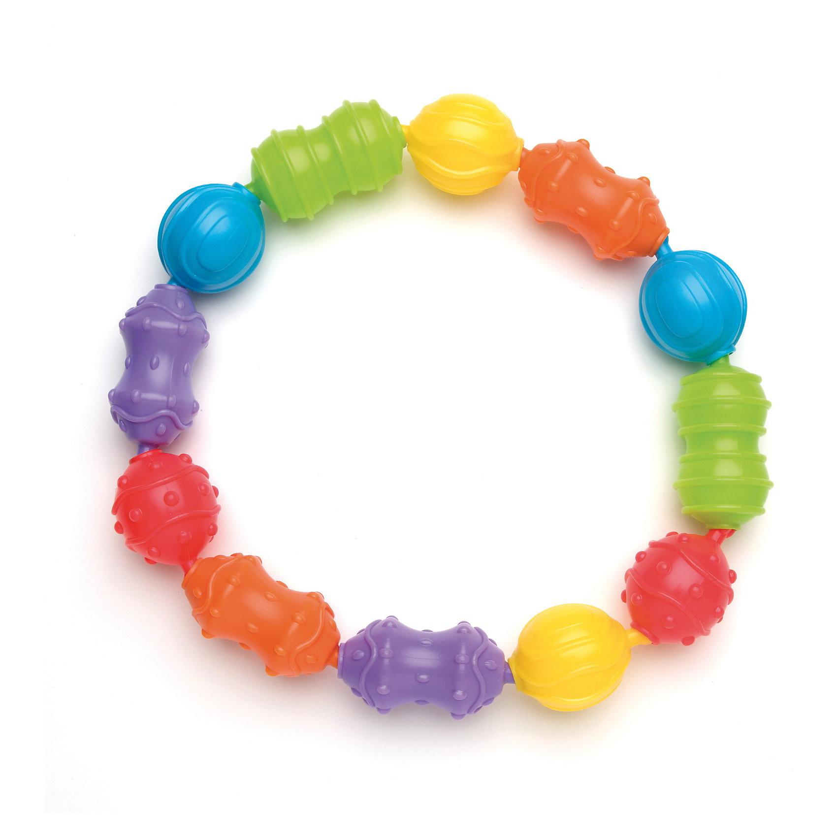 Игрушка-цепочка, PlaygroКрасочная игрушка-цепочка, Playgro (Плейгро) с множеством вариантов комбинаций несомненно, привлечет внимание малыша.<br>Игровой набор состоит из 12 разнообразных по форме и цвету фигур, с различными выпуклыми рисунками. Малыш легко может крепить их между собой в произвольном порядке, комбинируя цвета и формы. В процессе игры успешно развивается моторика пальчиков, сенсорное и цветовое восприятие, ребенок знакомится с формами. Дети более старшего возраста могут использовать игрушку для получения навыков счета. Игрушку можно присоединять к коляске или автокреслу. Изготовлена игрушка из экологически чистого и безопасного материала.<br><br>Дополнительная информация:<br><br>- Материалы: безопасный пластик<br>- Размер звеньев: 4х8 см, 4х5 см.<br><br>Игрушку-цепочку, Playgro (Плейгро)  можно купить в нашем интернет-магазине.<br><br>Ширина мм: 63<br>Глубина мм: 225<br>Высота мм: 250<br>Вес г: 311<br>Возраст от месяцев: 0<br>Возраст до месяцев: 12<br>Пол: Унисекс<br>Возраст: Детский<br>SKU: 3599515