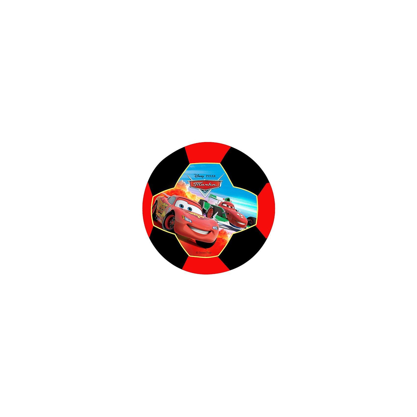 - Футбольный мяч, однослойный, размер 3, Тачки тачки 20 см 8 шт