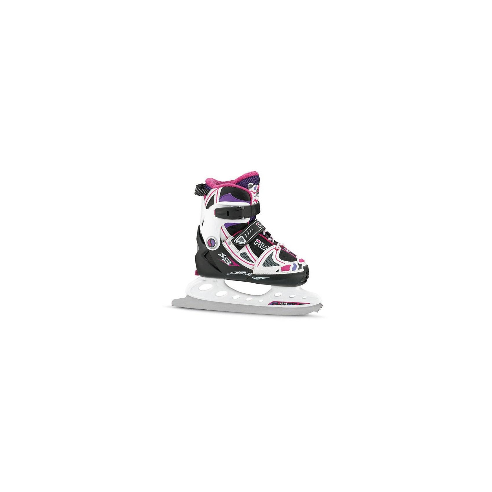 Ледовые коньки X-One Ice G, чёрный/ розовый, FILA