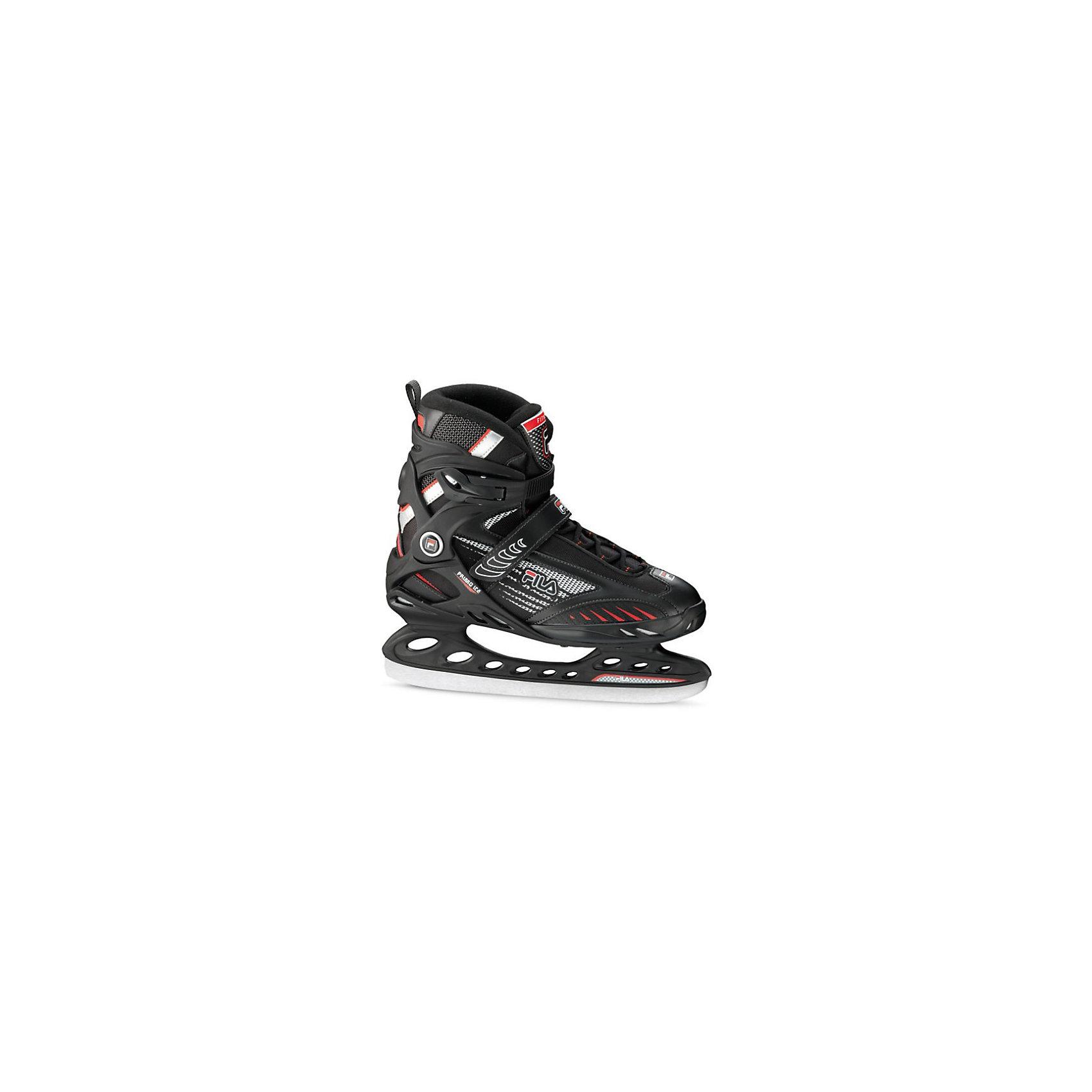 Ледовые коньки Primo Ice, чёрный/ красный, FILA