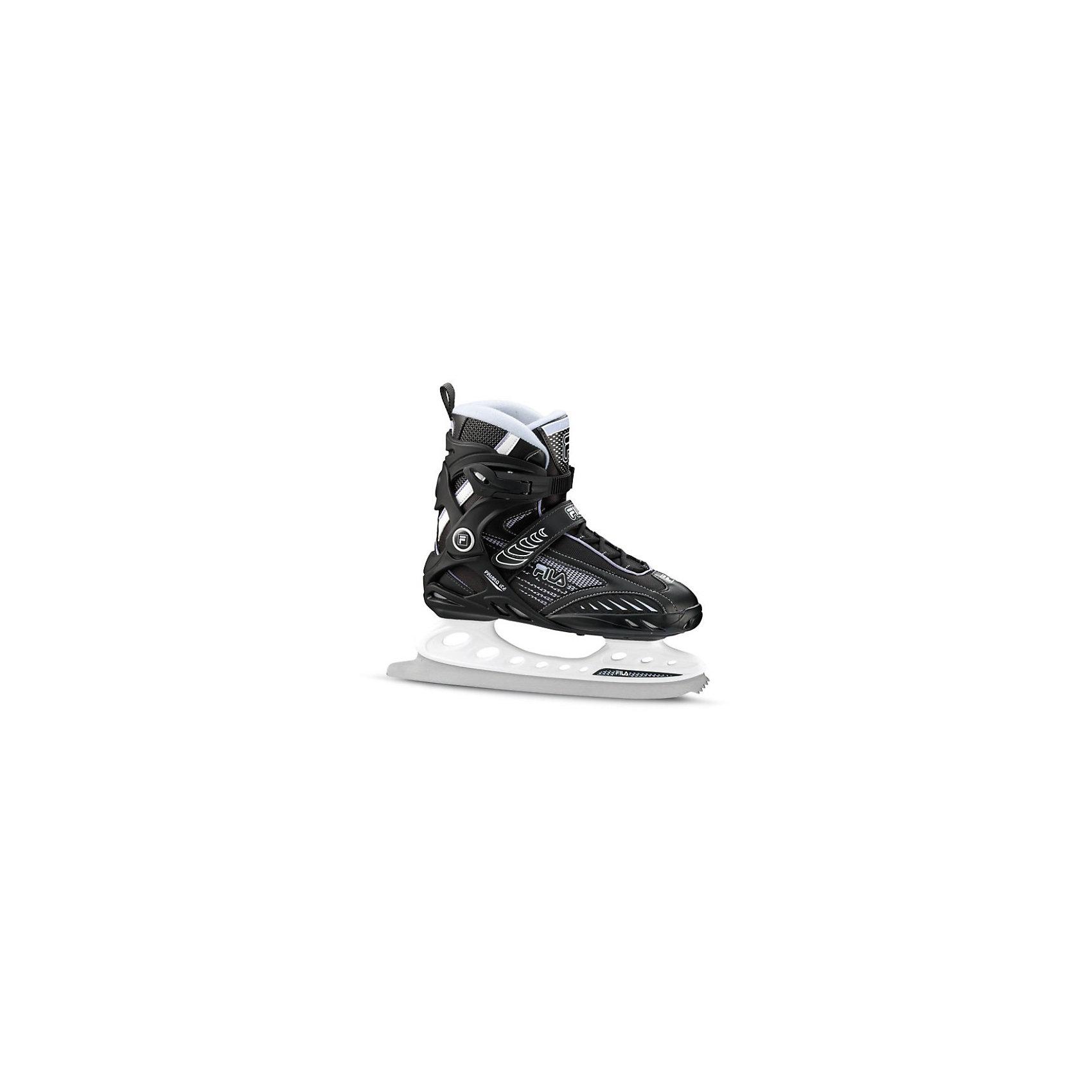 Ледовые коньки Primo Ice, чёрный/ фиолетовый, FILA