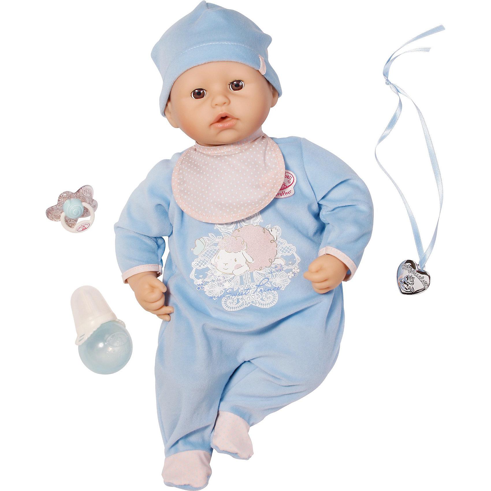 Кукла-мальчик с мимикой, 46 см,  Baby Annabell