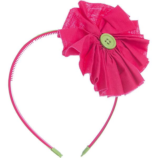 Ободок для девочки PlayTodayАксессуары<br>* утонченный ободок для волос выполнен из  пластика<br>* ободок обтянут салатовый лентой<br>* декорирован объемным хлопковым цветком и пуговицей<br>Состав:<br>90% хлопок, 10% стирол<br><br>Ширина мм: 170<br>Глубина мм: 157<br>Высота мм: 67<br>Вес г: 117<br>Цвет: розовый<br>Возраст от месяцев: 36<br>Возраст до месяцев: 168<br>Пол: Женский<br>Возраст: Детский<br>Размер: one size<br>SKU: 3614502