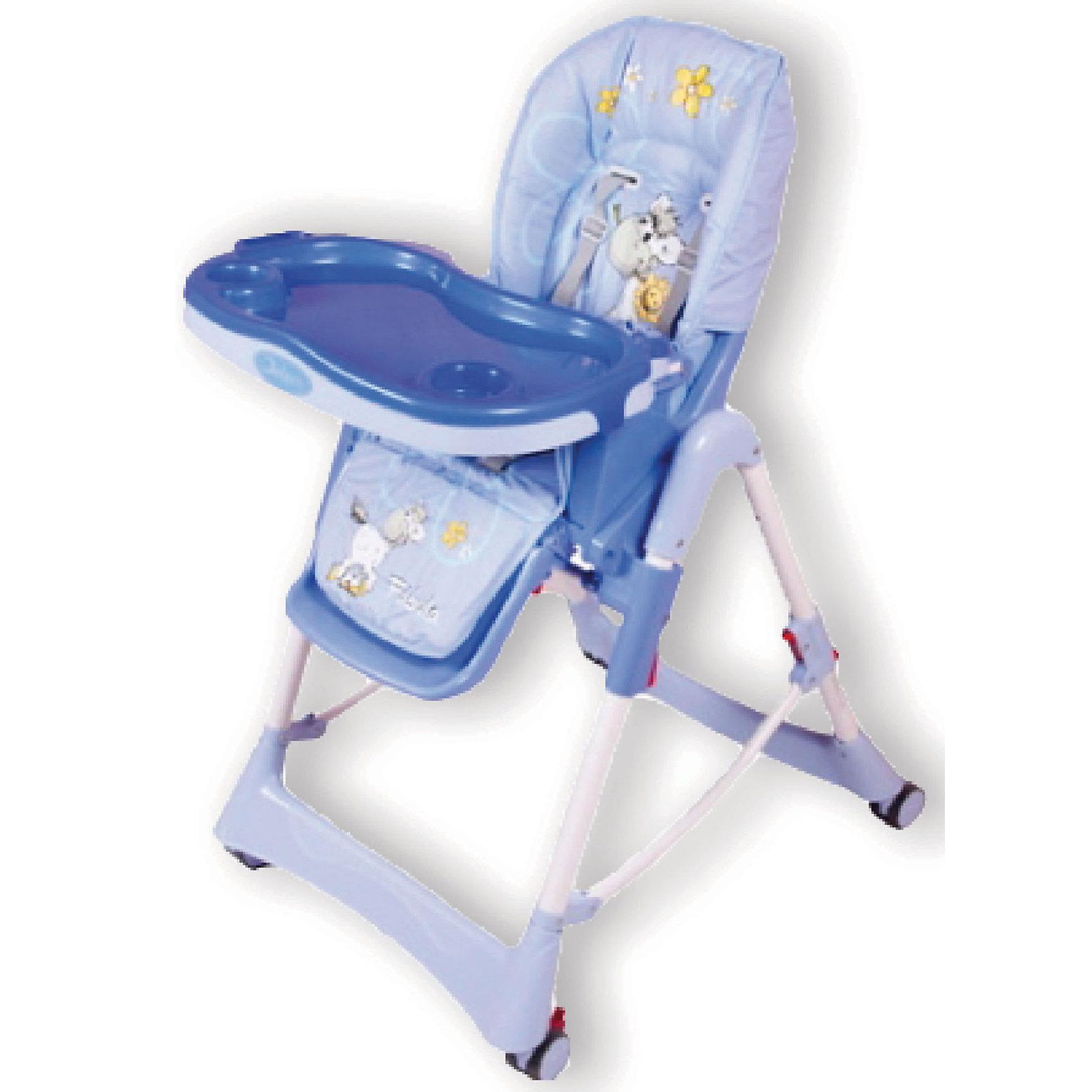 Стульчик для кормления Piero Fabula Horse, Jetem, голубой