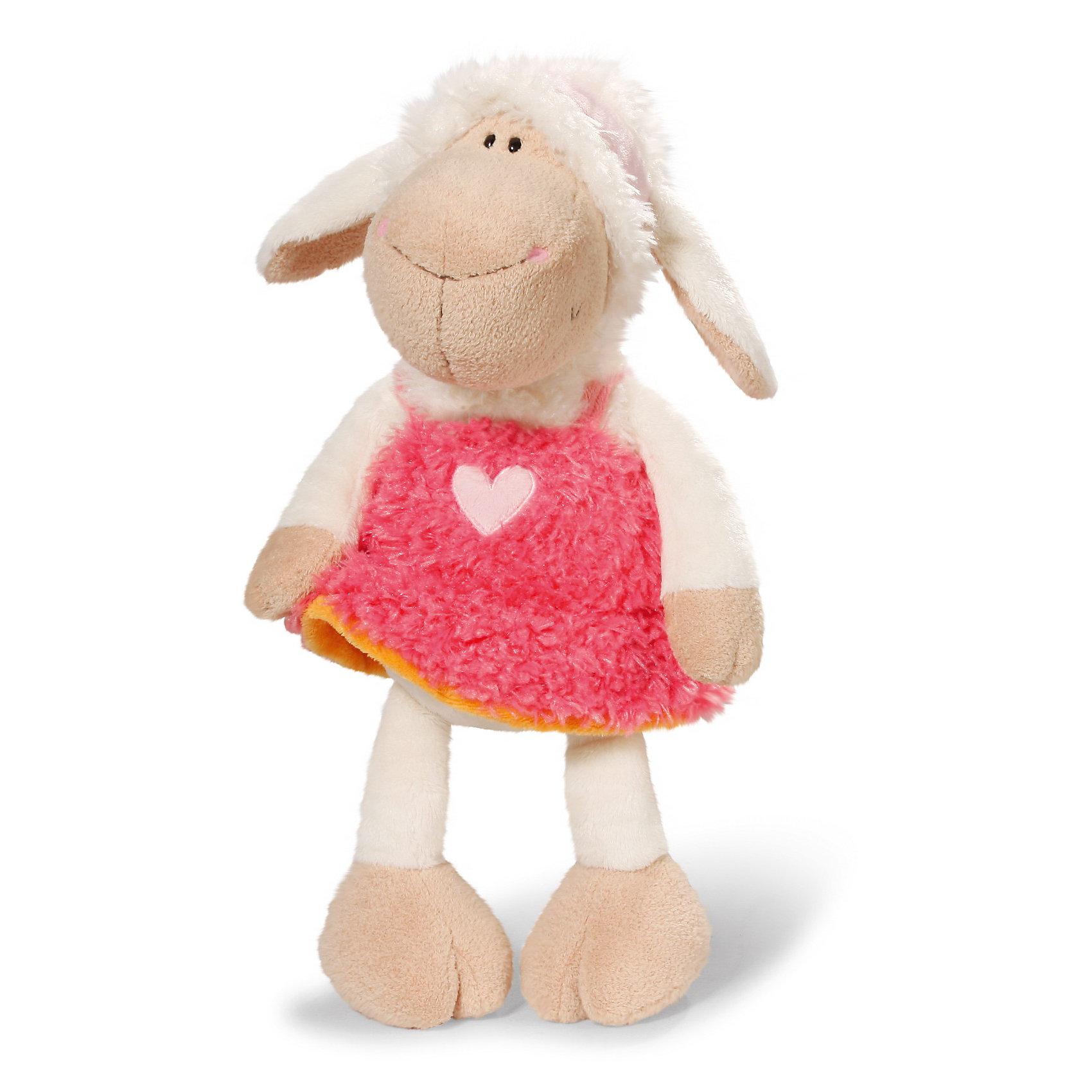 Овечка Фрэнсис, 25см,  NICIПлюшевая зверушка Овечка Фрэнсис, 25см от NICI станет прекрасным подарком для Вашего малыша.<br>Мягкая игрушка Овечка Фрэнсис, сидячая – это восхитительная плюшевая игрушка от немецкого производителя Nici. Очаровательная овечка станет лучшим другом Вашего малыша на долгие годы. У игрушки мягкая приятная на ощупь шерстка, а потому его так приятно обнимать и прижимать к себе. Основной цвет игрушки – белый. Лапки и мордочка овечки бежевого цвета. Овечка Фрэнсис очень стильная и всегда следит за модными тенденциями. Она одета в нарядное розовое платьице с вышитым на груди сердечком. Глазки у Фрэнсис пластиковые.<br>Игрушку можно посадить на ровную поверхность. Она изготовлена из экологически чистых материалов: высококачественного плюша с набивкой из гипоаллергенного синтепона. Не деформируется и не теряет внешний вид при стирке.<br><br>Дополнительная информация:<br><br>- Высота игрушки: 25 см.<br>- Материал: плюш, синтепон<br><br>Мягкую игрушку Овечка Фрэнсис, 25см можно купить в нашем интернет-магазине.<br><br>Ширина мм: 283<br>Глубина мм: 418<br>Высота мм: 88<br>Вес г: 149<br>Возраст от месяцев: 0<br>Возраст до месяцев: 60<br>Пол: Женский<br>Возраст: Детский<br>SKU: 3620089