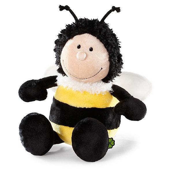 Шмель, 25 см,  NICIМягкие игрушки животные<br>Плюшевая зверушка Шмель, 25 см от NICI станет прекрасным подарком для Вашего малыша.<br>Мягкая игрушка Шмель, сидячий – это забавная плюшевая игрушка от немецкого производителя Nici. Милый шмель с усиками станет лучшим другом Вашего малыша на долгие годы. У шмеля мягкая приятная на ощупь шерстка, а потому ее так приятно обнимать и прижимать к себе. Игрушка выполнена в классических цветах - спинка у нее черная с желтыми полосками, лапки темно коричневого цвета, мордочка - светло-бежевого цвета. У шмеля вокруг шеи - белый пушок, на голове - забавные маленькие усики. Игрушку легко можно посадить на ровную поверхность.<br><br>Игрушка  изготовлена из экологически чистых материалов: высококачественного плюша и гипоаллергенного синтепона. Не деформируется и не теряет внешний вид при стирке.<br><br>Дополнительная информация:<br><br>- Высота игрушки: 25 см.<br>- Материал: плюш, синтепон<br><br>Мягкую игрушку Шмель, 25 см можно купить в нашем интернет-магазине.<br><br>Ширина мм: 197<br>Глубина мм: 192<br>Высота мм: 88<br>Вес г: 129<br>Возраст от месяцев: 0<br>Возраст до месяцев: 60<br>Пол: Унисекс<br>Возраст: Детский<br>SKU: 3620149