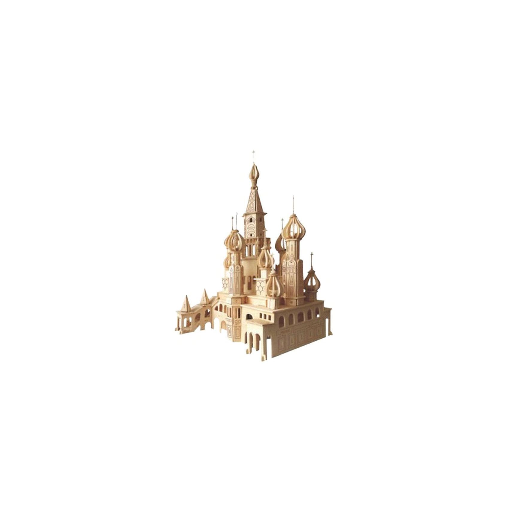 Деревянный пазл 3D