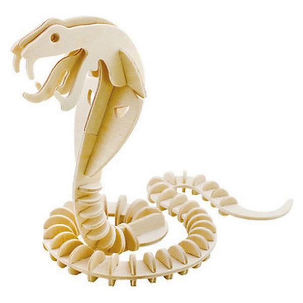Деревянный пазл 3D Змея, Educational Line3D пазлы<br>Уникальный деревянный 3D пазл Змея от Educational Line будет интересен и детям и их родителям. С помощью входящих в набор деревянных деталей Вы сможете своими руками собрать необычный  сувенир - объемную фигуру змеи. Сборка объемных 3D пазлов не требует инструментов, детали просто выдавливаются из пластины и закрепляются в пазах в порядке и очередности нумерации, согласно прилагаемой схемы (сначала 1-1, затем 2-2, 3-3 и т.д.). В комплект входит подробная инструкция по сборке. <br><br>Для прочности детали пазла можно предварительно проклеить клеем, а готовую модель раскрасить и покрыть лаком (в комплект не входит). <br><br>Дополнительная информация:<br><br>- Материал: дерево.<br>- Количество деталей: 66.<br>- Размер упаковки: 23 x 19 x 0,5 см.<br>- Вес: 142 гр.<br><br>Сборка пазла развивает у ребенка логическое мышление, воображение, усидчивость и аккуратность, тренирует мелкую моторику рук.<br><br>Деревянный пазл 3D Змея, Educational Line можно купить в нашем интернет-магазине.<br><br>Ширина мм: 2<br>Глубина мм: 18<br>Высота мм: 20<br>Вес г: 300<br>Возраст от месяцев: 60<br>Возраст до месяцев: 1188<br>Пол: Унисекс<br>Возраст: Детский<br>Количество деталей: 66<br>SKU: 3620582