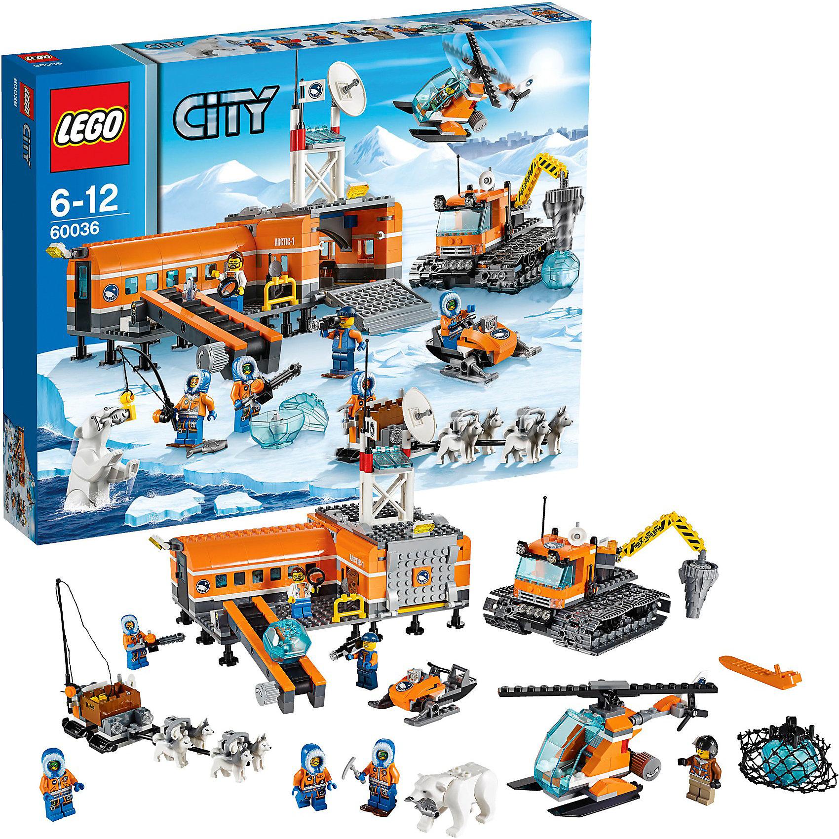 LEGO City 60036: Арктическая база