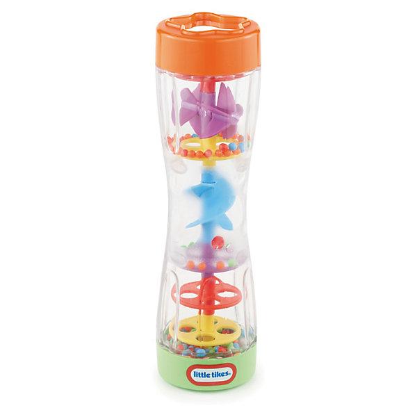 Цветной дождь, Little TikesИгрушки для новорожденных<br>Цветной дождь, Little Tikes (Литл Тайкс) – это отличный подарок вашему ребенку.<br>Переверните погремушку «Цветной дождь» и разноцветные шарики будут смешаться через занимательные колесики и спиральки, со звуком дождя. У погремушки удобная форма, она не выскальзывает из рук.<br><br>Дополнительная информация:<br><br>- Материал: пластик<br>- Размер: 22 х 20 х 8 см.<br>- Вес: 348 гр.<br><br>Погремушку «Цветной дождь», Little Tikes (Литл Тайкс) можно купить в нашем интернет-магазине.<br><br>Ширина мм: 80<br>Глубина мм: 220<br>Высота мм: 200<br>Вес г: 348<br>Возраст от месяцев: 6<br>Возраст до месяцев: 12<br>Пол: Унисекс<br>Возраст: Детский<br>SKU: 3624937