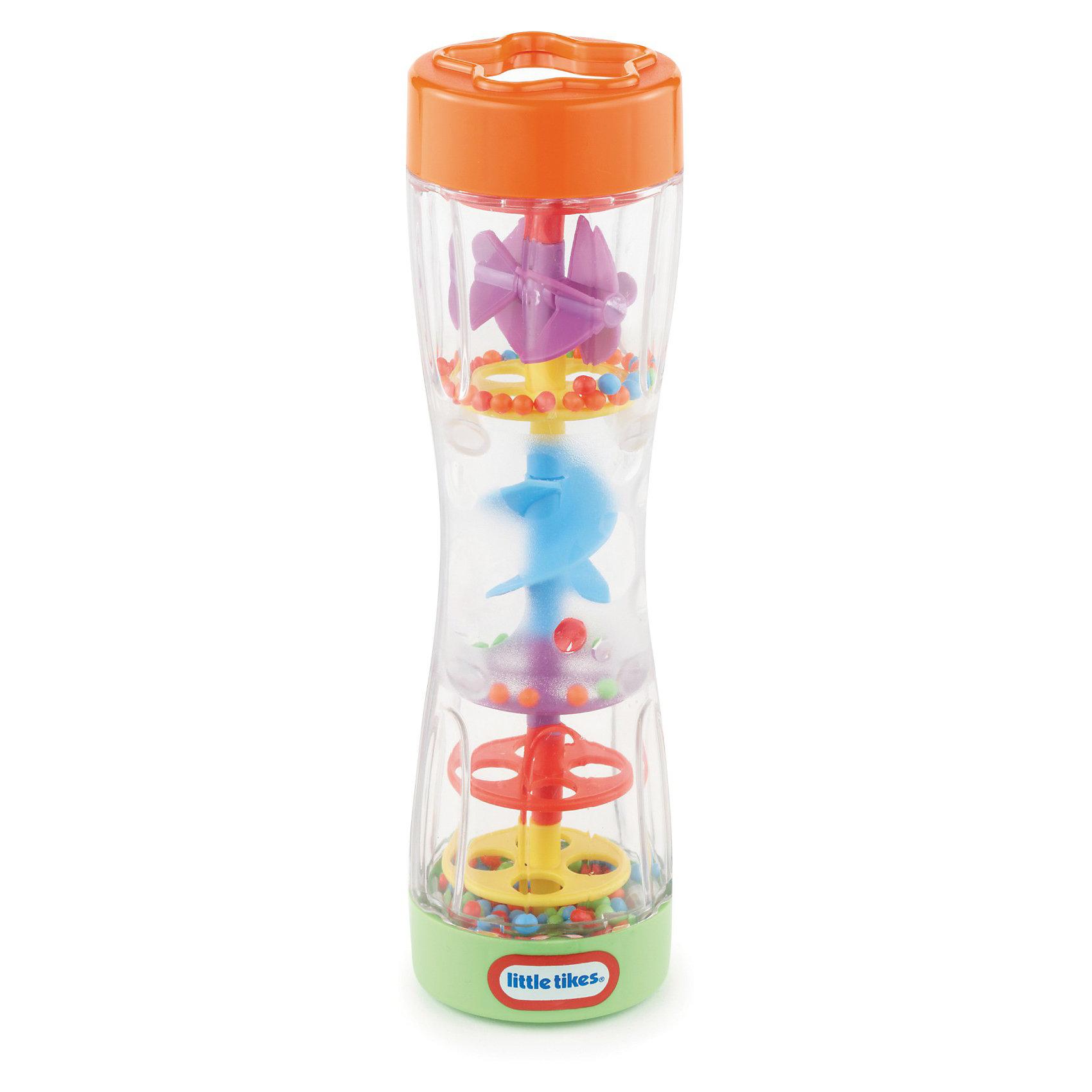 Цветной дождь, Little TikesПогремушки<br>Цветной дождь, Little Tikes (Литл Тайкс) – это отличный подарок вашему ребенку.<br>Переверните погремушку «Цветной дождь» и разноцветные шарики будут смешаться через занимательные колесики и спиральки, со звуком дождя. У погремушки удобная форма, она не выскальзывает из рук.<br><br>Дополнительная информация:<br><br>- Материал: пластик<br>- Размер: 22 х 20 х 8 см.<br>- Вес: 348 гр.<br><br>Погремушку «Цветной дождь», Little Tikes (Литл Тайкс) можно купить в нашем интернет-магазине.<br><br>Ширина мм: 80<br>Глубина мм: 220<br>Высота мм: 200<br>Вес г: 348<br>Возраст от месяцев: 6<br>Возраст до месяцев: 12<br>Пол: Унисекс<br>Возраст: Детский<br>SKU: 3624937