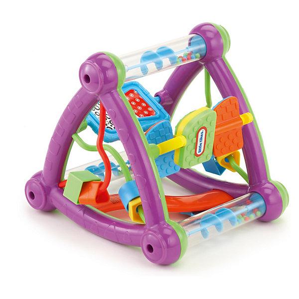 Треугольник, Little TikesИгрушки для новорожденных<br>Треугольник, Little Tikes (Литл Тайкс) – это замечательная игрушка для развития мелкой моторики. Потрясите игрушку, и вертушки, погремушки, зеркало одновременно начнут развлекать вашего ребенка. Удобно брать в дорогу. Легко держать ребенку.<br><br>Дополнительная информация:<br><br>- Материал: пластик<br>- Размер: 21 х 18 х 18,5 см.<br>- Вес: 551 гр.<br><br>Треугольник, Little Tikes (Литл Тайкс) можно купить в нашем интернет-магазине.<br>Ширина мм: 210; Глубина мм: 210; Высота мм: 210; Вес г: 551; Возраст от месяцев: 6; Возраст до месяцев: 36; Пол: Унисекс; Возраст: Детский; SKU: 3624939;
