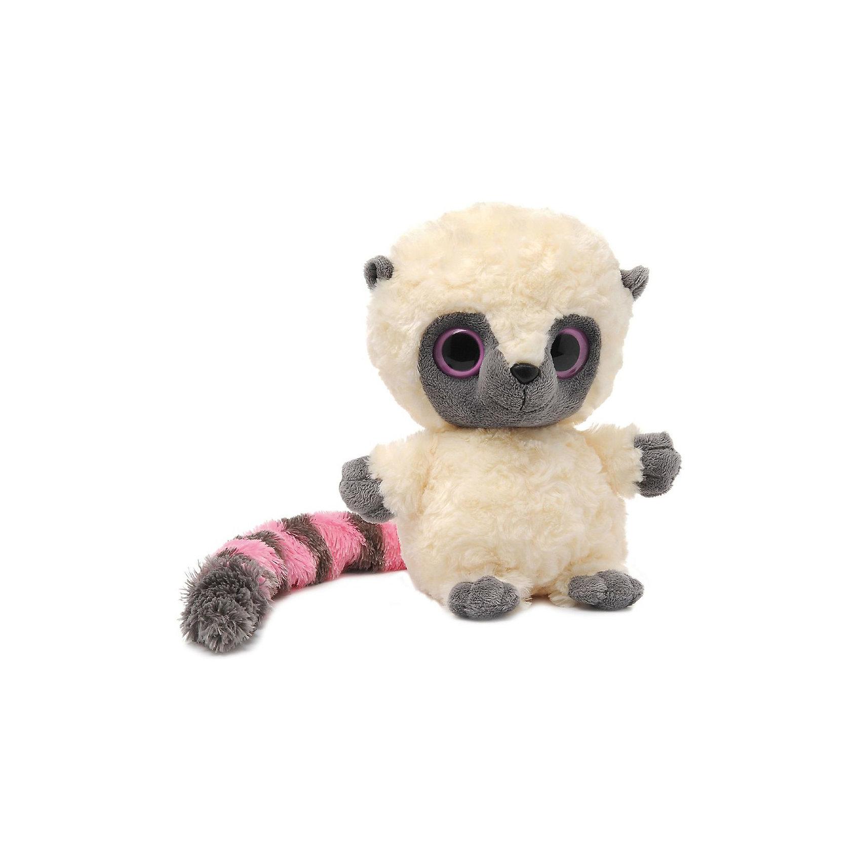 Юху розовый, 20см, AURORAЮху розовый, 20см, AURORA (Аврора) – это отличный подарок ребенку, поклоннику мультсериала Юху и его друзья. Лемур Юху, отважный лидер, добрый и справедливый.<br>Мягкая игрушка лемур Юху станет одной из самых любимых игрушек вашего ребенка. Шерстка лемура мягкая и шелковистая, поэтому ребенку будет очень приятно держать игрушку в руках. Большие выразительные глазки особенно нравятся детям. Длинный пушистый хвост делает игрушку еще более милой и забавной. Игрушка очень приятная на ощупь, содержат специальные пластмассовые гранулы, развивающие тактильные навыки у детей младшего возраста.<br>Игрушка изготовлена из высококачественного плюша, набивка - гипоаллергенный синтепон. Яркие и стойкие цвета приятны для глаз. Не стоит расстраиваться, если малыш ненароком испачкал своего плюшевого друга, ведь игрушку можно стирать, разрешена машинная и ручная стирка. Производители заботятся о безопасности вашего малыша, поэтому пластмассовые глаза надежно прикреплены к мордочке лемура. Ребенок может разыгрывать любые сюжеты, благодаря чему у него будет развиваться фантазия, воображение, а также навыки сюжетно-ролевой игры.<br><br>Дополнительная информация:<br><br>- Материалы: плюш, синтепон<br>- Размер: 20 х 12 х 11 см.<br>- Вес: 229 гр.<br><br>Юху розового, 20см, AURORA (Аврора) можно купить в нашем интернет-магазине.<br><br>Ширина мм: 180<br>Глубина мм: 140<br>Высота мм: 110<br>Вес г: 229<br>Возраст от месяцев: 36<br>Возраст до месяцев: 120<br>Пол: Унисекс<br>Возраст: Детский<br>SKU: 3624959