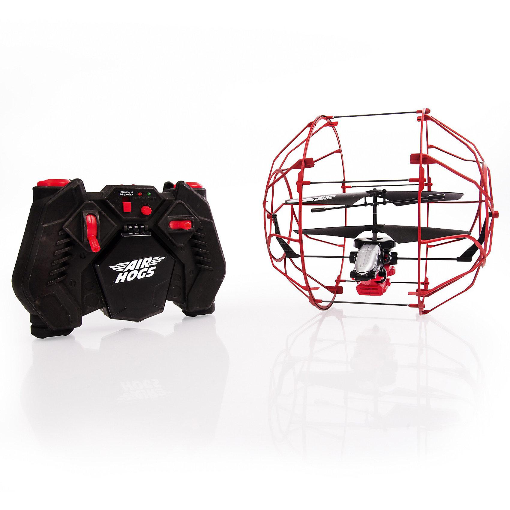 Вертолет в клетке, AIR HOGSВертолет в клетке, AIR HOGS - вертолет на и/к управлении, который не оставит равнодушным ни одного мальчишку!<br><br>Этот уникальный вертолет защищен наружной клеткой, которая создает барьер между ним и поверхностью или предметами. Клетка вращается вокруг вертолета, что позволяет ему будто бы «забираться» на стену. Модель хорошо подойдет новичкам в управлении вертолетами, с помощью которой они будут практиковаться с минимальными повреждениями игрушки. Для игры необходимо 6 батареек типа АА. Время зарядки около 30 мин, время игры около 5 мин.<br> <br>Особенности игрушки:<br><br>- Оснащен защитной клеткой<br>- Забирается по вертикальным поверхностям<br>- Идеальный вариант для новичков<br> - Необходимо 6 батареек типа АА<br> - Время зарядки около 30 мин, время игры около 5 мин.<br> <br>Дополнительная информация:<br><br>- В набор входит: модель вертолета, пульт управления, инструкция.<br>- Материал: пластмасса, металл.<br><br><br>Вертолет в клетке, AIR HOGS можно купить в нашем интернет-магазине.<br><br>Ширина мм: 288<br>Глубина мм: 258<br>Высота мм: 208<br>Вес г: 549<br>Возраст от месяцев: 96<br>Возраст до месяцев: 156<br>Пол: Мужской<br>Возраст: Детский<br>SKU: 3629365