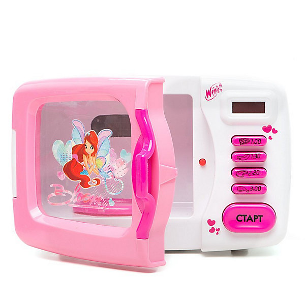 Микроволновая  печь,  Winx ClubИгрушечная бытовая техника<br>Микроволновая  печь Winx Club - замечательная реалистичная игрушка, которая не оставит равнодушной ни одну девочку. Яркая игрушка выполнена в привлекательном для девочек дизайне по мотивам популярного мультсериала Winx Club и украшена изображениями волшебных фей Winx. В машинке имеется прозрачная дверца, внутри подставка для посуды, на корпусе размещены таймер и кнопочки для выбора программы для разных видов блюд. Девочка с удовольствием будет готовить новые блюда для своих любимых кукол и игрушек. Имеются световые и звуковые эффекты.<br><br>Дополнительная информация:<br><br>- Материал: пластик<br>- Требуются батарейки: 3 х АА (не входят в комплект).<br>- Размер игрушки: 22,5 х 15,5 х 13,5 см.<br>- Размер упаковки: 31 х 19 х 16 см.<br>- Вес:  0.8 кг.<br>- Серия: Winx (Винкс) - Школа Волшебниц<br><br>Микроволновую печь Winx Club можно купить в нашем интернет-магазине.<br>Ширина мм: 310; Глубина мм: 160; Высота мм: 190; Вес г: 1300; Возраст от месяцев: 36; Возраст до месяцев: 84; Пол: Женский; Возраст: Детский; SKU: 3644045;