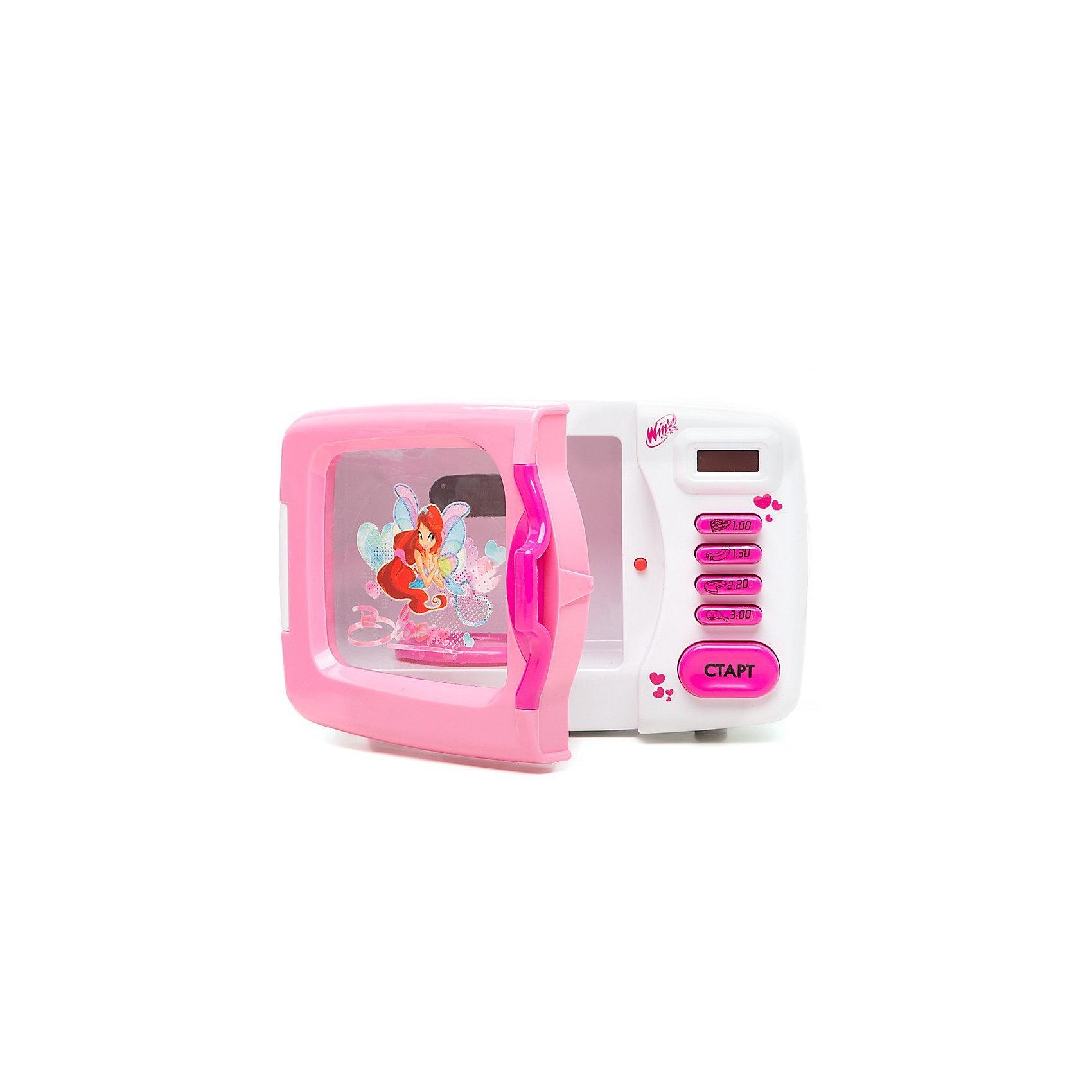 Микроволновая  печь,  Winx ClubИгрушечная бытовая техника<br>Микроволновая  печь Winx Club - замечательная реалистичная игрушка, которая не оставит равнодушной ни одну девочку. Яркая игрушка выполнена в привлекательном для девочек дизайне по мотивам популярного мультсериала Winx Club и украшена изображениями волшебных фей Winx. В машинке имеется прозрачная дверца, внутри подставка для посуды, на корпусе размещены таймер и кнопочки для выбора программы для разных видов блюд. Девочка с удовольствием будет готовить новые блюда для своих любимых кукол и игрушек. Имеются световые и звуковые эффекты.<br><br>Дополнительная информация:<br><br>- Материал: пластик<br>- Требуются батарейки: 3 х АА (не входят в комплект).<br>- Размер игрушки: 22,5 х 15,5 х 13,5 см.<br>- Размер упаковки: 31 х 19 х 16 см.<br>- Вес:  0.8 кг.<br>- Серия: Winx (Винкс) - Школа Волшебниц<br><br>Микроволновую печь Winx Club можно купить в нашем интернет-магазине.<br><br>Ширина мм: 310<br>Глубина мм: 160<br>Высота мм: 190<br>Вес г: 1300<br>Возраст от месяцев: 36<br>Возраст до месяцев: 84<br>Пол: Женский<br>Возраст: Детский<br>SKU: 3644045