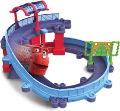 TOMY Игровой набор «Станция техосмотра», с Уилсоном, StackTrack, Чаггингтон