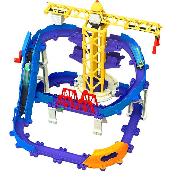 Игровой набор Большая стройка, ЧаггингтонИгрушки<br>Набор понравится всем любителям конструкторов, а особенно фанатам мультсериала Чаггингтон (Chuggington). Начните свою большую стройку вместе с веселыми паровозиками! Набор состоит из большого железнодорожного трека, тоннеля, моста, и подъемного крана. Детали дороги имеют прочное соединение, при этом их очень легко собирать и разбирать. Маленький паровозик Брюстер - точная копия героя любимого мультфильма. <br>С этим набором ваш ребенок сможет интересно и с пользой проводить время. Собирание конструктора дарить массу положительных эмоций, а так же прекрасно развивает мелкую моторику, логическое мышление и фантазию. С веселыми паровозиками дети смогут проигрывать любимые ситуации из мультфильма или же придумывать свои новые истории. Все наборы этой серии сочетаются друг с другом. Собери все наборы и построй свой настоящий Чаггингтон!<br><br>Дополнительная информация:<br><br>- Материал: пластик.<br>- Комплектация: трек, опоры, кран, мост, тоннель, паровозик Брюстер. <br>- Размер паровозика: 8 х3х4 см<br><br>Игровой набор Большая стройка, Чаггингтон (Chuggington) можно купить в нашем магазине.<br><br>Ширина мм: 520<br>Глубина мм: 358<br>Высота мм: 169<br>Вес г: 2916<br>Возраст от месяцев: 36<br>Возраст до месяцев: 60<br>Пол: Мужской<br>Возраст: Детский<br>SKU: 3645186