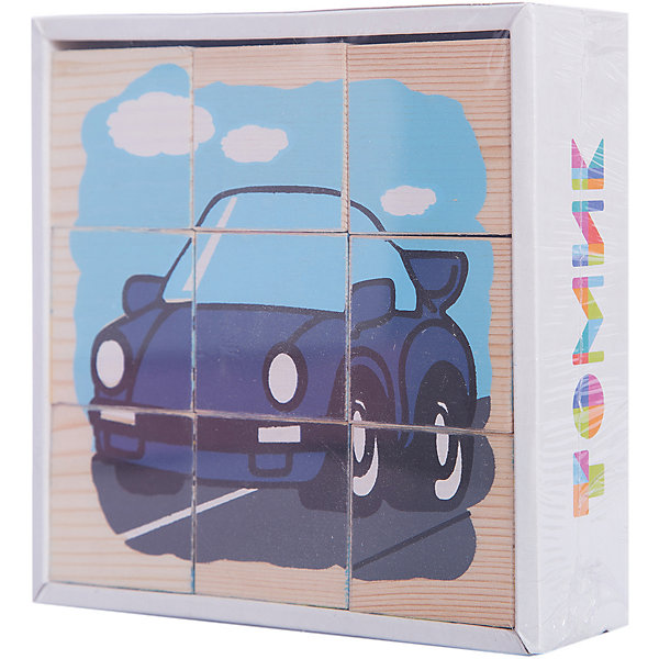 Кубики Транспорт, 9 штук, ТомикКубики<br>Кубики Транспорт, 9 штук, Томик - это одна из самых популярных и необходимых игрушек для малыша.<br>Кубики Транспорт - набор из девяти кубиков с гранью 4 см, из которых можно собрать 6 картинок с изображениями транспорта: самолета, трактора, автобуса, кораблика, автомобиля и паровозика. Занятия с кубиками разовьют у вашего малыша способности к пространственному мышлению, научат составлять целое из частей и познакомят с основными видами транспорта. Кроме того, кубики можно запросто использовать как конструктор — строить домики, башни и крепости — фантазия ребенка не будет ограничена ничем. Красочные кубики изготовлены из древесины хвойных пород. Рисунки нанесены методом шелкографии. Изображения очень износоустойчивые. Материалы экологически чистые и имеют гигиенические заключения, разрешающие изготовление из них детских игрушек.<br><br>Дополнительная информация:<br><br>- Количество кубиков: 9<br>- Размер кубика: 4 х 4 х 4 см.<br>- Размер упаковки: 13 х 13 х 4 см.<br>- Вес: 0,386 кг.<br>- Упаковка: цветная картонная коробка с крышкой<br><br>Кубики Транспорт, 9 штук, Томик можно купить в нашем интернет-магазине.<br><br>Ширина мм: 130<br>Глубина мм: 130<br>Высота мм: 40<br>Вес г: 400<br>Возраст от месяцев: 36<br>Возраст до месяцев: 60<br>Пол: Унисекс<br>Возраст: Детский<br>SKU: 3650280