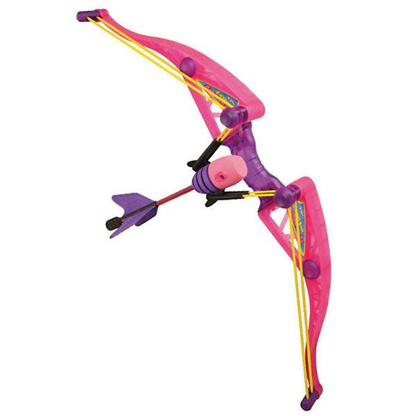 Лук Амазонка, ZingИгрушечные арбалеты и луки<br>Красивый розовый лук Амазонка от Zing (Зинг) , созданный специально для девочек! Эта легкая, прочная и безопасная игрушка быстро заряжается и позволяет стрелять далеко и метко. Лук Air Huntress Z-Curve – идеальное оружие для юной амазонки! Безопасные мягкие стрелы летят точно в цель и при этом не способны нанести вред ни стрелку, ни окружающим его людям и предметам. Лук для девочек легко заряжается и отличается прекрасной дальностью полета – до 70 метров! Игрушка Zing (Зинг) предназначена для активного отдыха на свежем воздухе, а ее современный дизайн понравится любой девочке. Стрельба из лука обеспечивает увлекательное времяпрепровождение, развивает меткость и глазомер.<br><br>Дополнительная информация:<br><br>- Комплектация: лук для девочек Z-Curve, 2 стрелы с мягким наконечником, стрела с присоской, держатель для стрел;<br>- Игрушка развивает меткость и координацию;<br>- Лук оснащен мягкими стрелами из вспененного полиуретана;<br>- Дальность полета стрел до 70 метров;<br>- Игрушка полностью безопасна как для стрелка, так и для окружающих;<br>- Игрушка идеальна для игр на улице;<br>- Материал: пластик;<br>- Размер упаковки: 60 х 10 х 20 см;<br>- Вес: 530 г<br><br>Лук Амазонка, Zing (Зинг) можно купить в нашем интернет-магазине.<br>Ширина мм: 600; Глубина мм: 100; Высота мм: 200; Вес г: 530; Возраст от месяцев: 96; Возраст до месяцев: 2147483647; Пол: Женский; Возраст: Детский; SKU: 3650797;