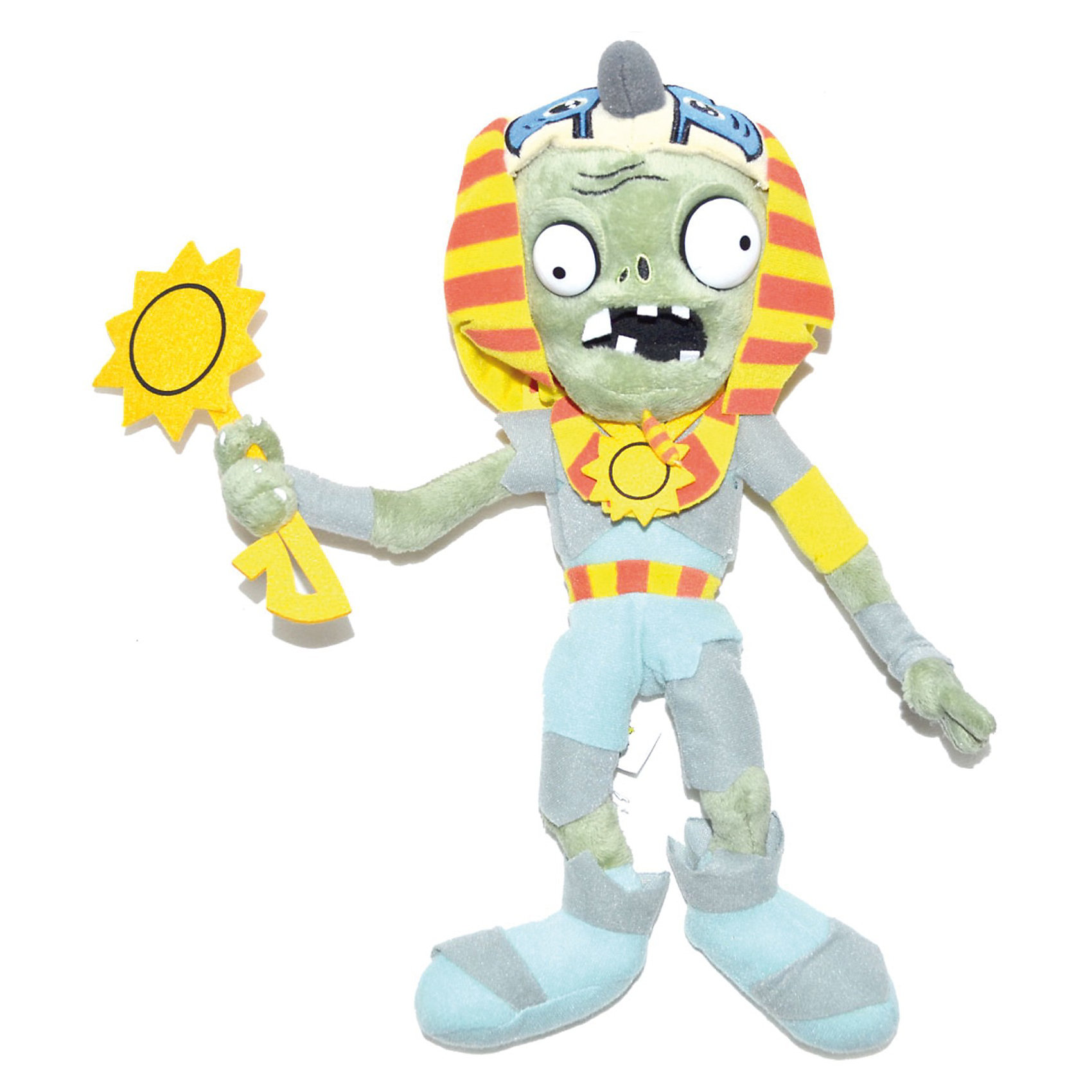 - Плюшевая игрушка Зомби Фараон, 30 см, Растения против Зомби растения против зомби большая книга стикеров
