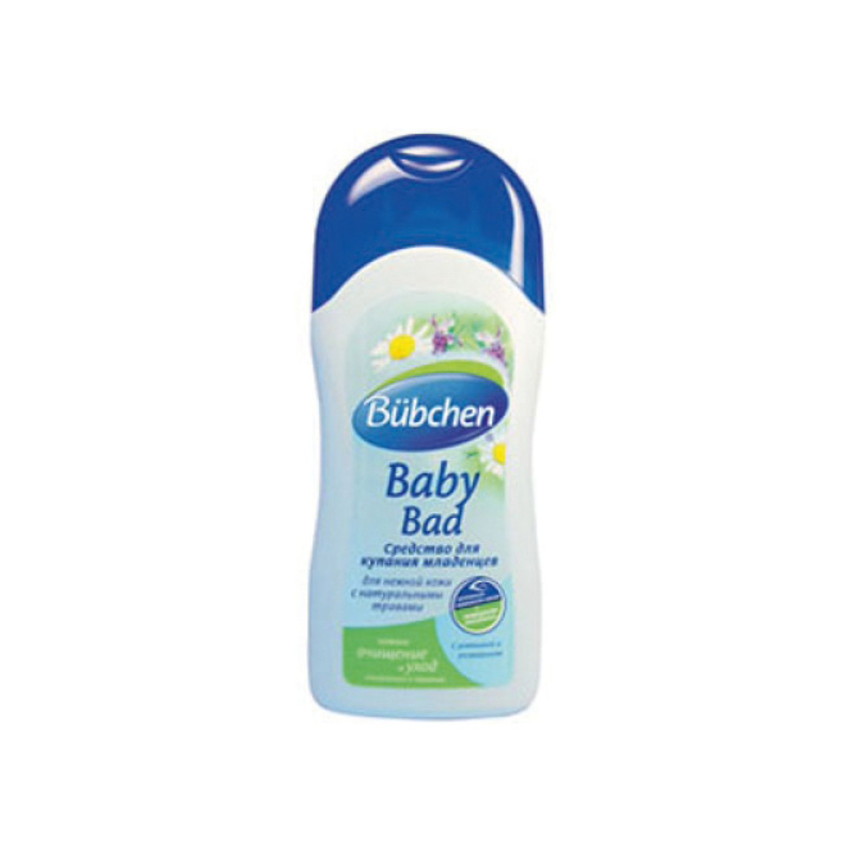 Bubchen Средство для купания младенцев, Bubchen, 200 мл. bubchen средство для купания младенцев 400 мл