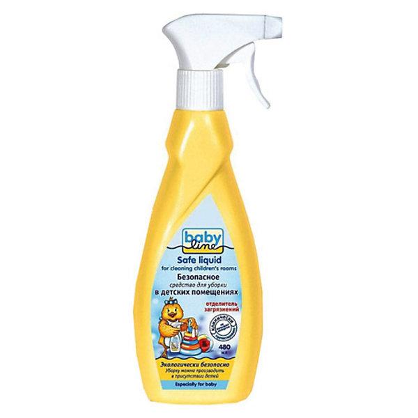 Безопасное средство для уборки детских помещений, Babyline, 480 мл.Бытовая химия<br>Безопасное средство Babyline для уборки в детских помещениях можно использовать даже в присутствии детей. Оно экологически безопасно. Подходит для использования в доме, где живут аллергики. Средство для уборки эффективно удаляет органические загрязнения, например, от молока, фруктовых и овощных пюре, соков, а также следы от фломастеров, карандашей, наклеек и другую грязь. Можно чистить предметы из кожи, дерева, кожзаменителя, тканей, пластика, линолеума и т.п. Этот продукт не содержит ни спирта, ни хлора и хлорообразующих соединений, ни диоксидов, ни каких либо других вредных составляющих, способных повредить Вашему ребенку. Он не вступает в химическую реакцию с загрязнениями, а просто отделяет их с очищаемых поверхностей. Кроме того данное средство без цвета и запаха, не раздражает кожу, слизистую оболочку и дыхательные пути. Даже если оно случайно попадет на руку Вам или Вашему малышу ничего страшного не произойдет.<br><br>Дополнительная информация:<br><br>- Объем: 480 мл.<br>- Продукт полностью биологически разлагаем, не наносит вреда окружающей среде<br>- Без запаха, цвета, не раздражает кожные покровы и дыхательные пути<br>- Эффективно удаляет органические загрязнения<br>- Удобный распылитель, имеющий три положения: спрей, струя, блокировка<br>- Подходит для чистки детской мебели, игрушек, бытовой техники, детских колясок<br>- Рекомендован для применения в лечебных детских учреждениях<br>- Не токсичен, не горюч, пожаробезопасен<br>- Не вызывает аллергии<br><br>Безопасное средство для уборки детских помещений, Babyline, 480 мл. можно купить в нашем интернет-магазине.<br><br>Ширина мм: 50<br>Глубина мм: 90<br>Высота мм: 260<br>Вес г: 528<br>Возраст от месяцев: 36<br>Возраст до месяцев: 2147483647<br>Пол: Унисекс<br>Возраст: Детский<br>SKU: 3658842