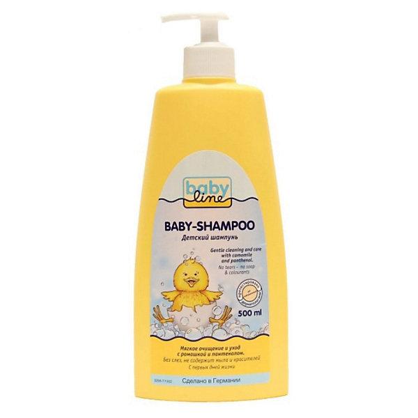 Шампунь для младенцев с помпой, Babyline, 500 мл.Товары для купания<br>Шампунь для младенцев с помпой, Babyline, 500 мл. - это детское средство гигиены высочайшего качества.<br>Шампунь для младенцев Babyline специально разработан для ежедневного мытья волос. Мягко и нежно очищает волосы и чувствительную кожу головы. Содержит ромашку и пантенол.<br><br>Дополнительная информация:<br><br>- Объем: 500 мл.<br>- Без красителей и мыла<br>- Не щиплет глазки<br>- pH-нейтральный<br>- Проверен аллергологами<br>- Состав: вода, лаурилглюкозид, кокамидопропилбетаин, лаурилсаркозинат натрия, натрия кокоил яблочных аминокислот, лимонная кислота, феноксиэтанол, отдушка, метилпарабен, пантенол, пропилпарабен, ромашка, бисаболол<br><br>Шампунь для младенцев с помпой, Babyline, 500 мл. можно купить в нашем интернет-магазине.<br>Ширина мм: 52; Глубина мм: 96; Высота мм: 236; Вес г: 628; Возраст от месяцев: 0; Возраст до месяцев: 60; Пол: Унисекс; Возраст: Детский; SKU: 3658849;