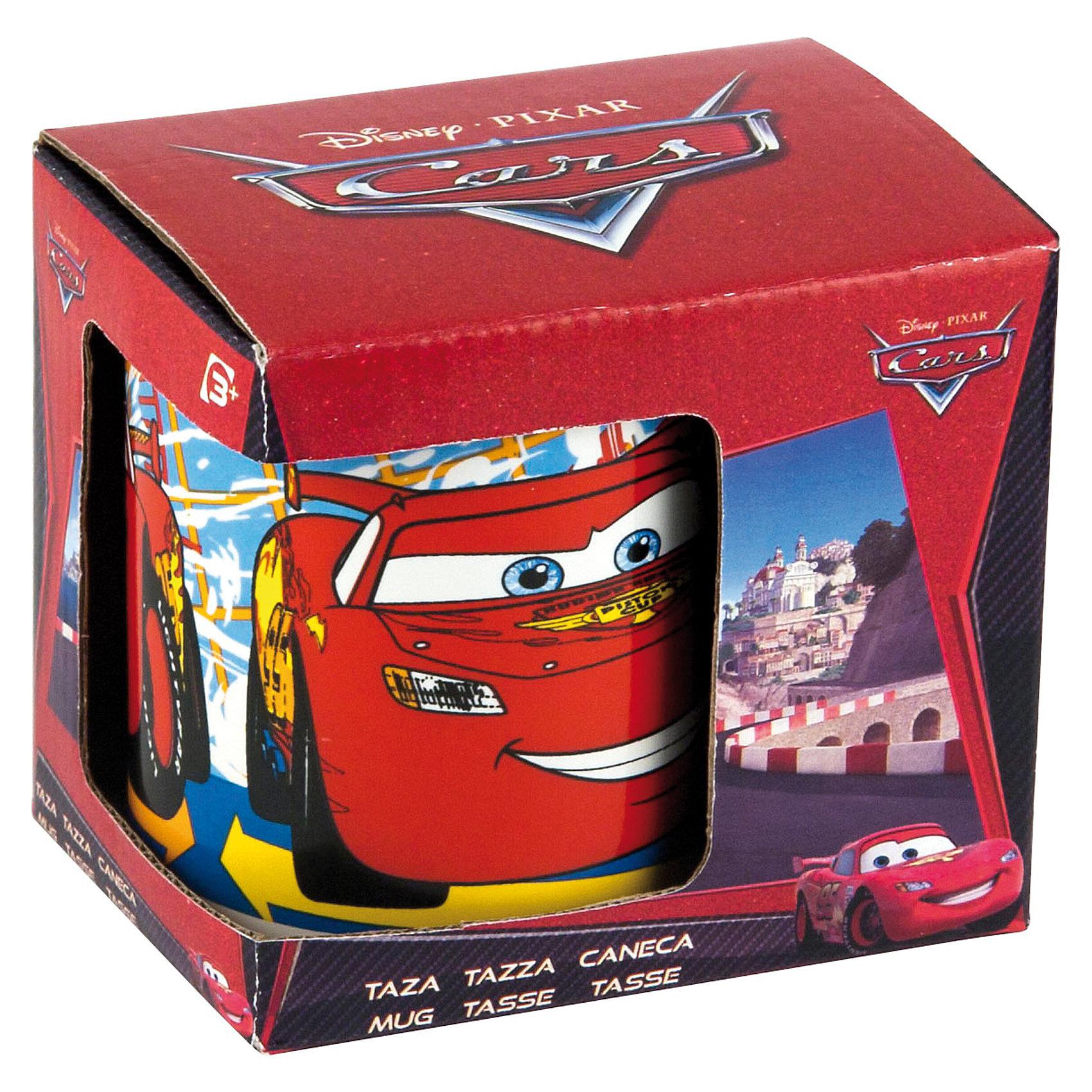 Кружка керамическая в подарочной упаковке, 325мл, Тачки